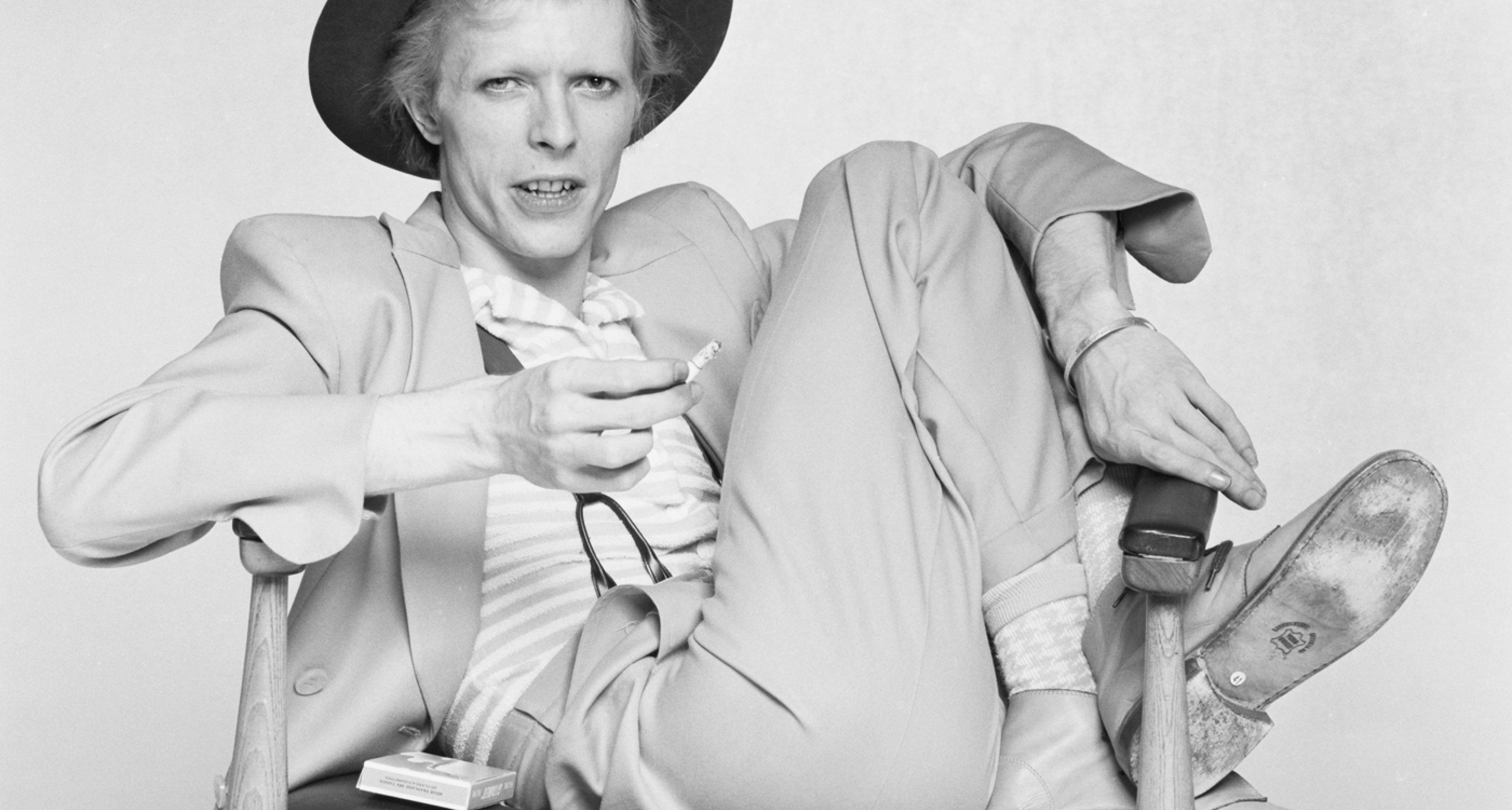 David Bowie - Terry O'Neill/Getty Images. Original Man, Copyright Gestalten 2014