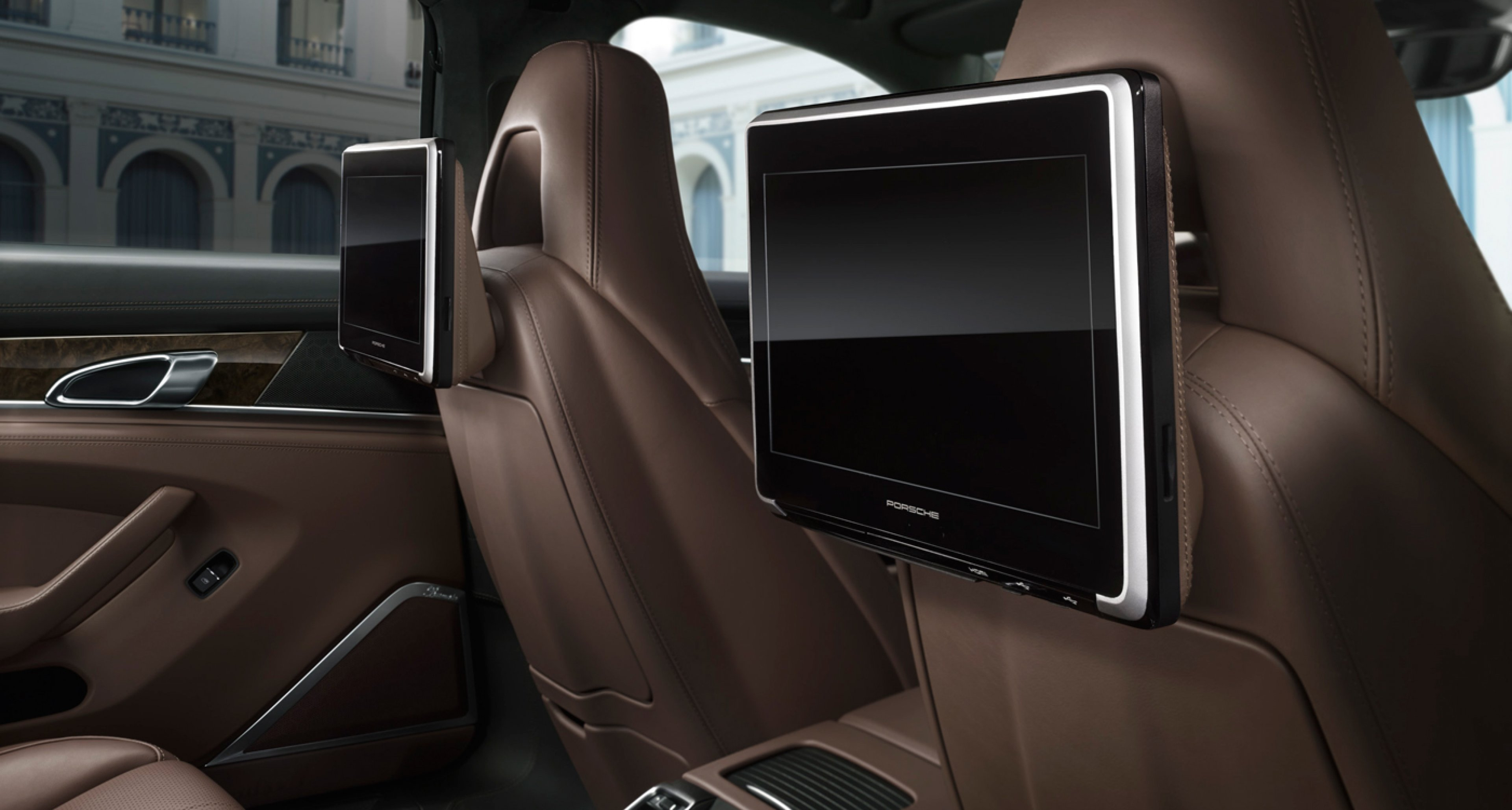 Interior of the 2014 Porsche Panamera Exclusive Series.