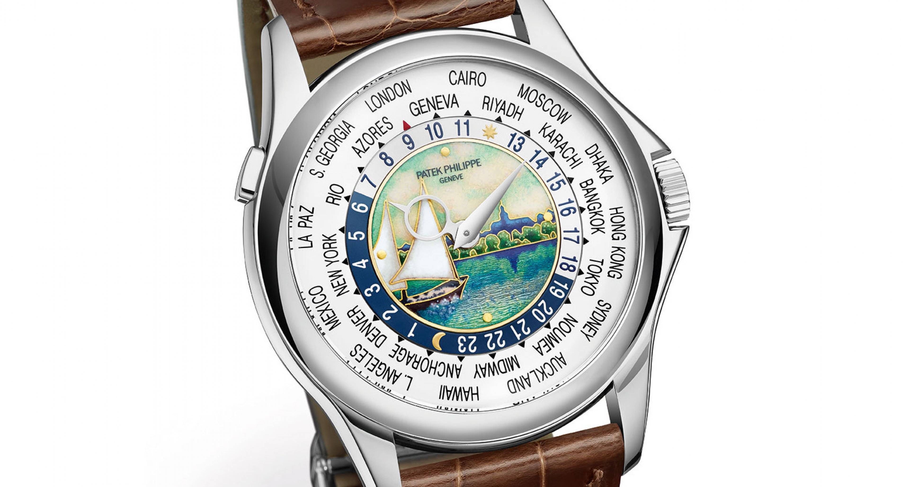 Patek Philippe World Time Moon