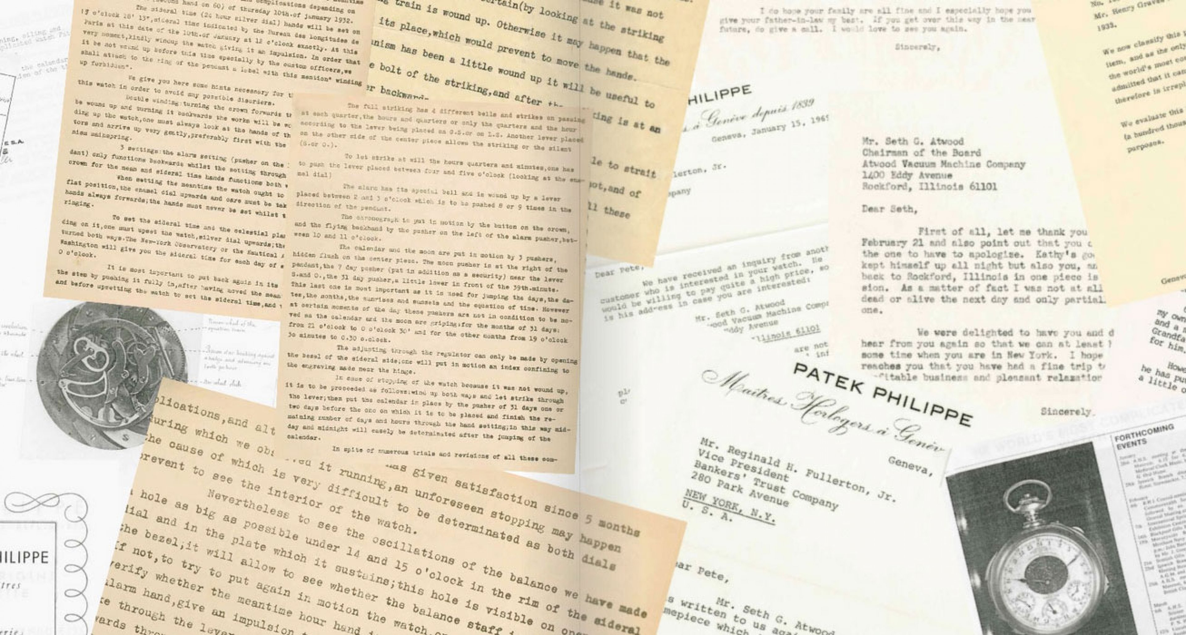 """A shot of the extensive paperwork created during the production of the """"Supercomplication"""""""