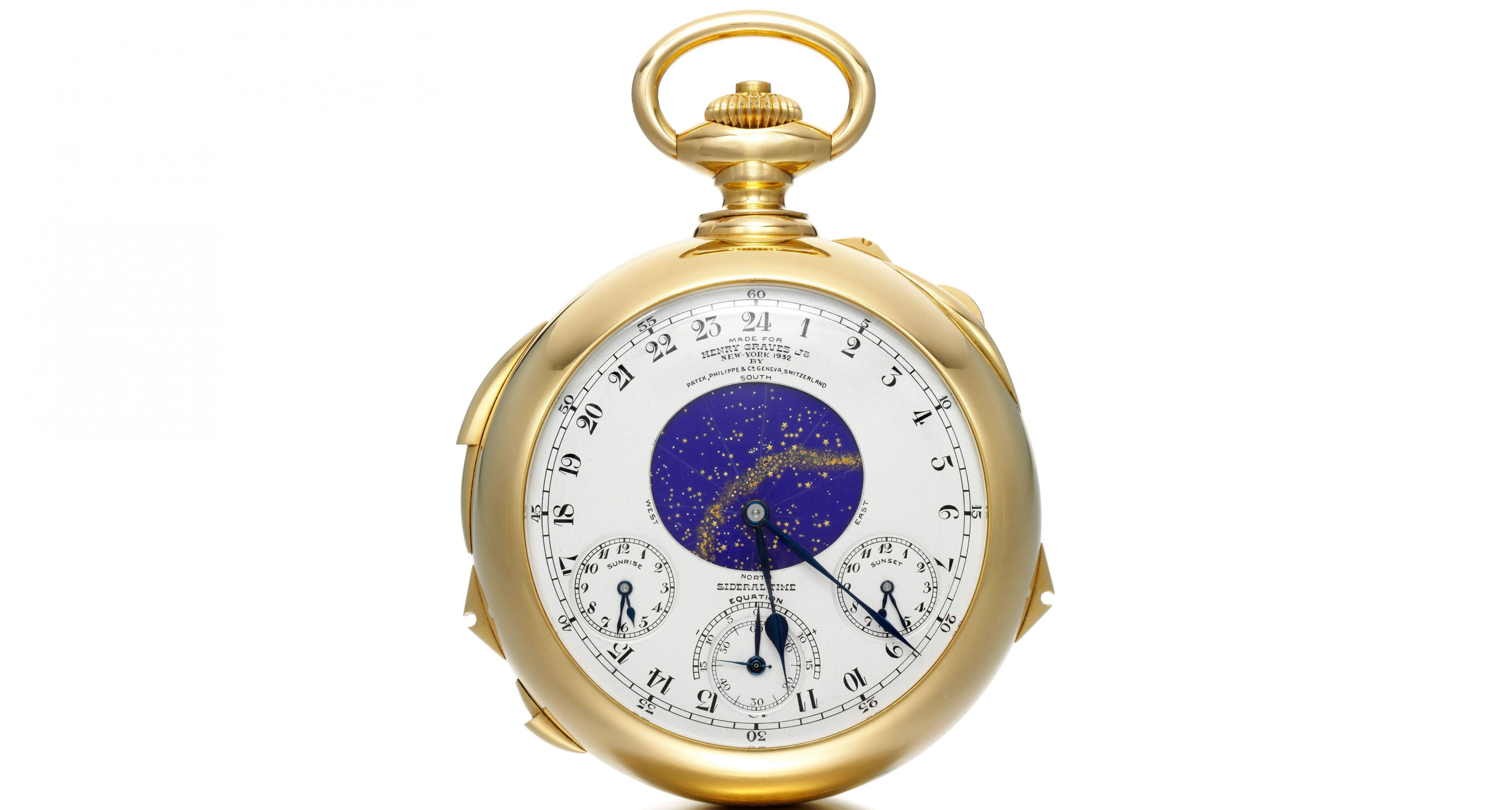 """With 24 complication combined in one watch the """"Graves is not only the most expensive watch of the world it is also among the most complicated ones"""