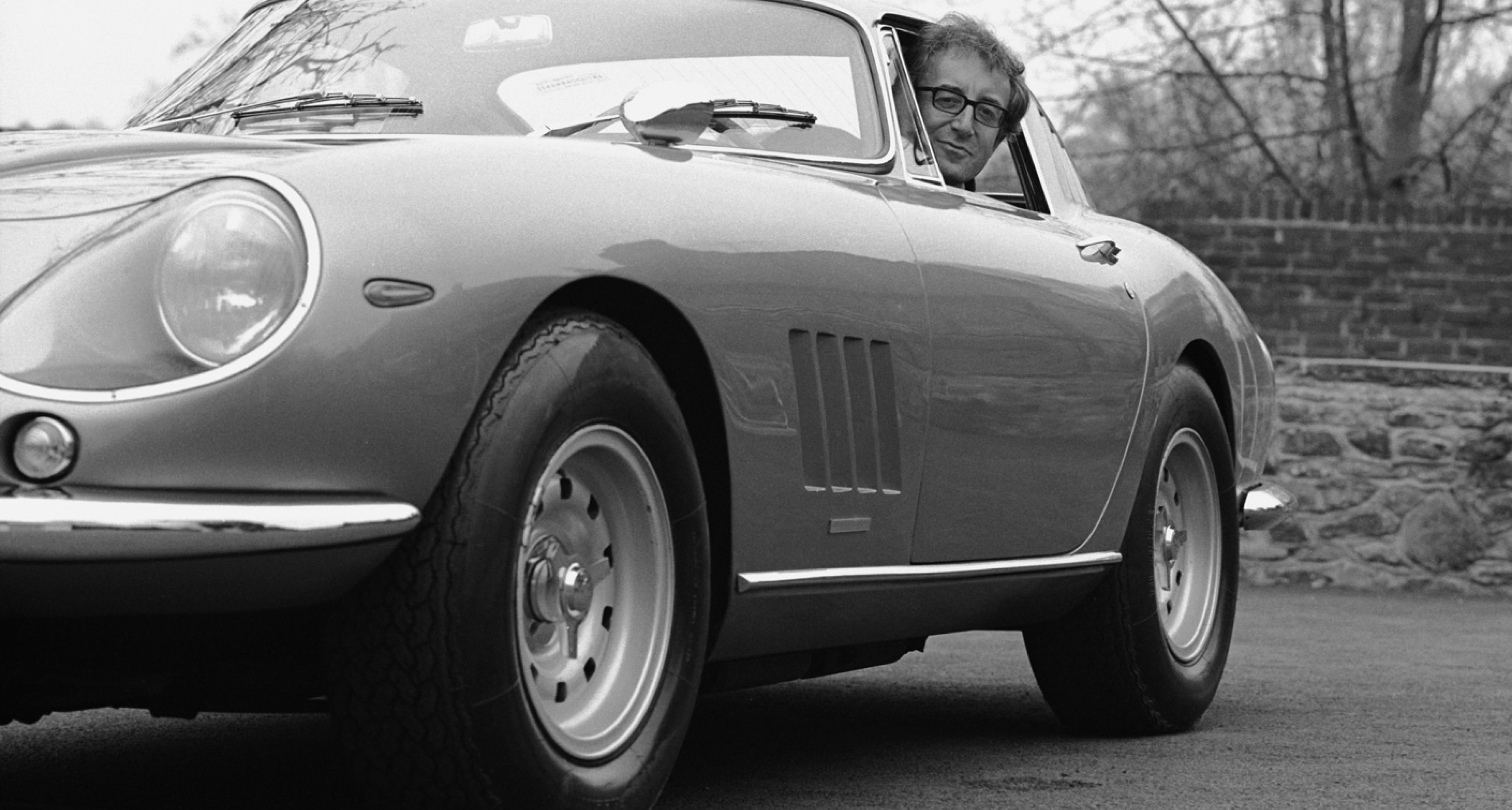 Sellers and his Ferrari 275 GTB
