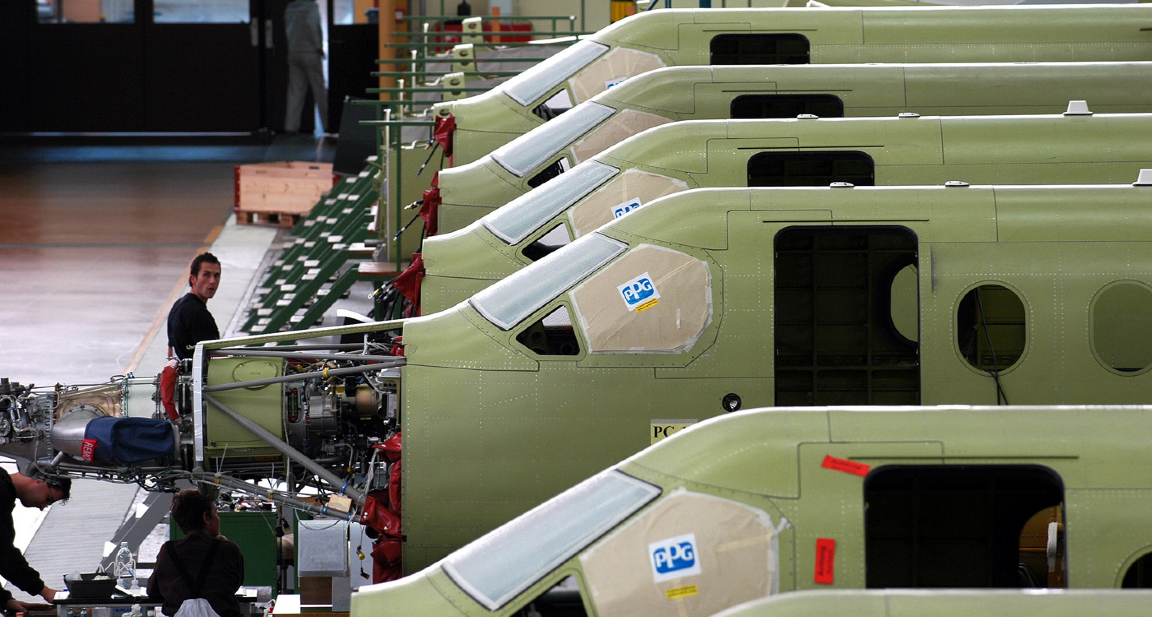 Timewarp: The PC-12 assembly line today