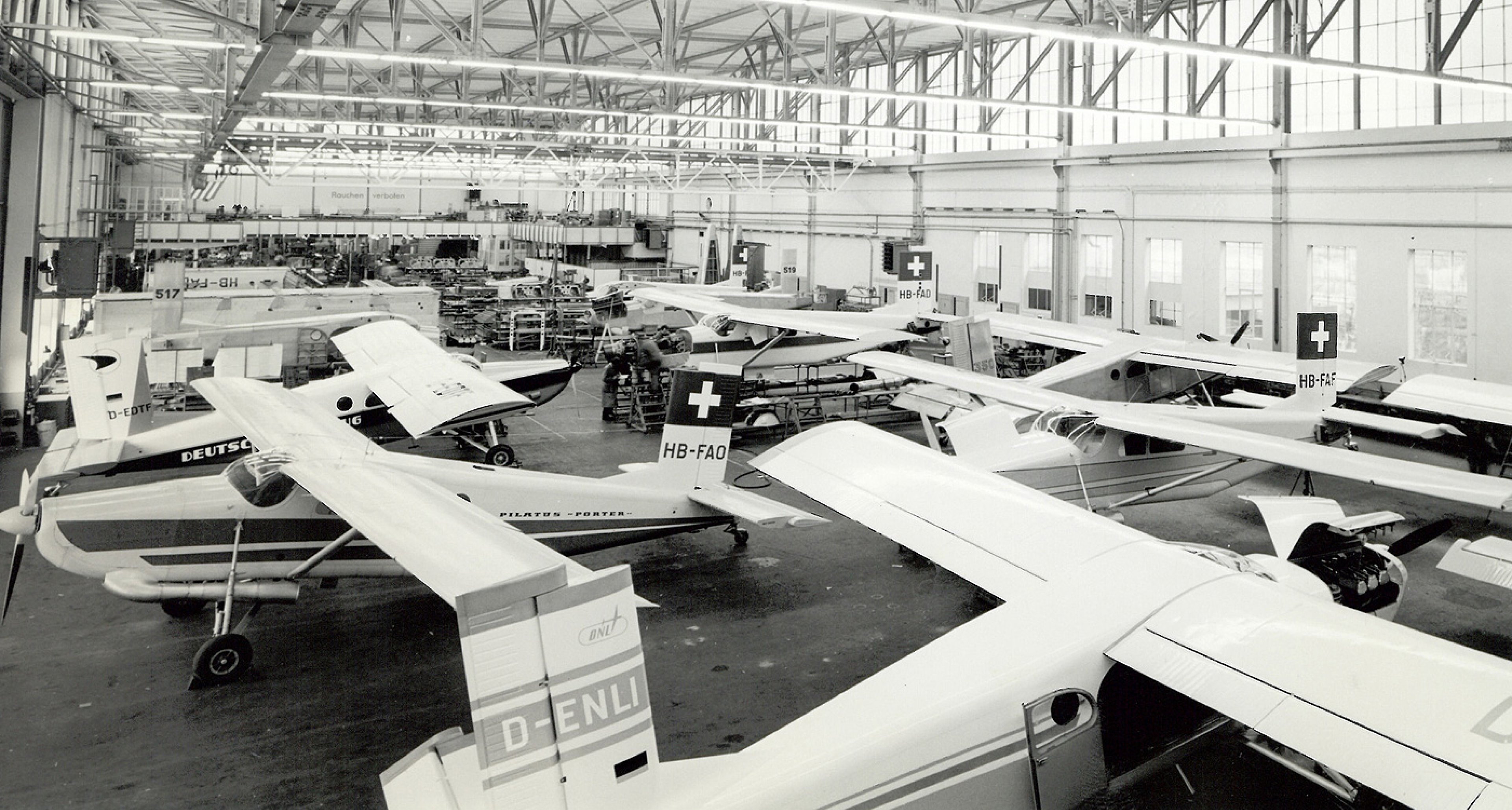 PC-6 production in Stans