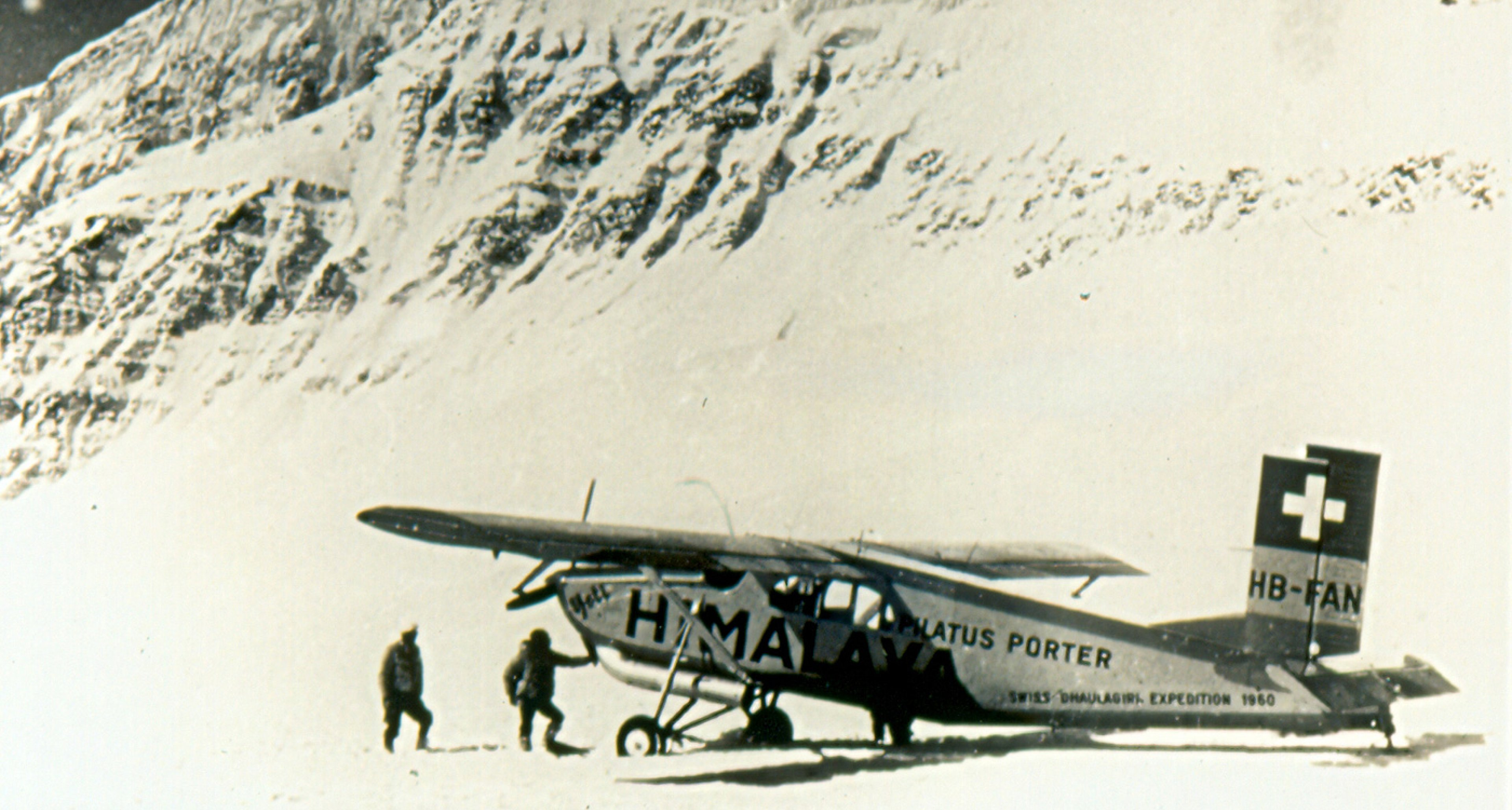 PC-6 Pilatus Porter Nepal Dhaulaghiri Expedition HB-FAN