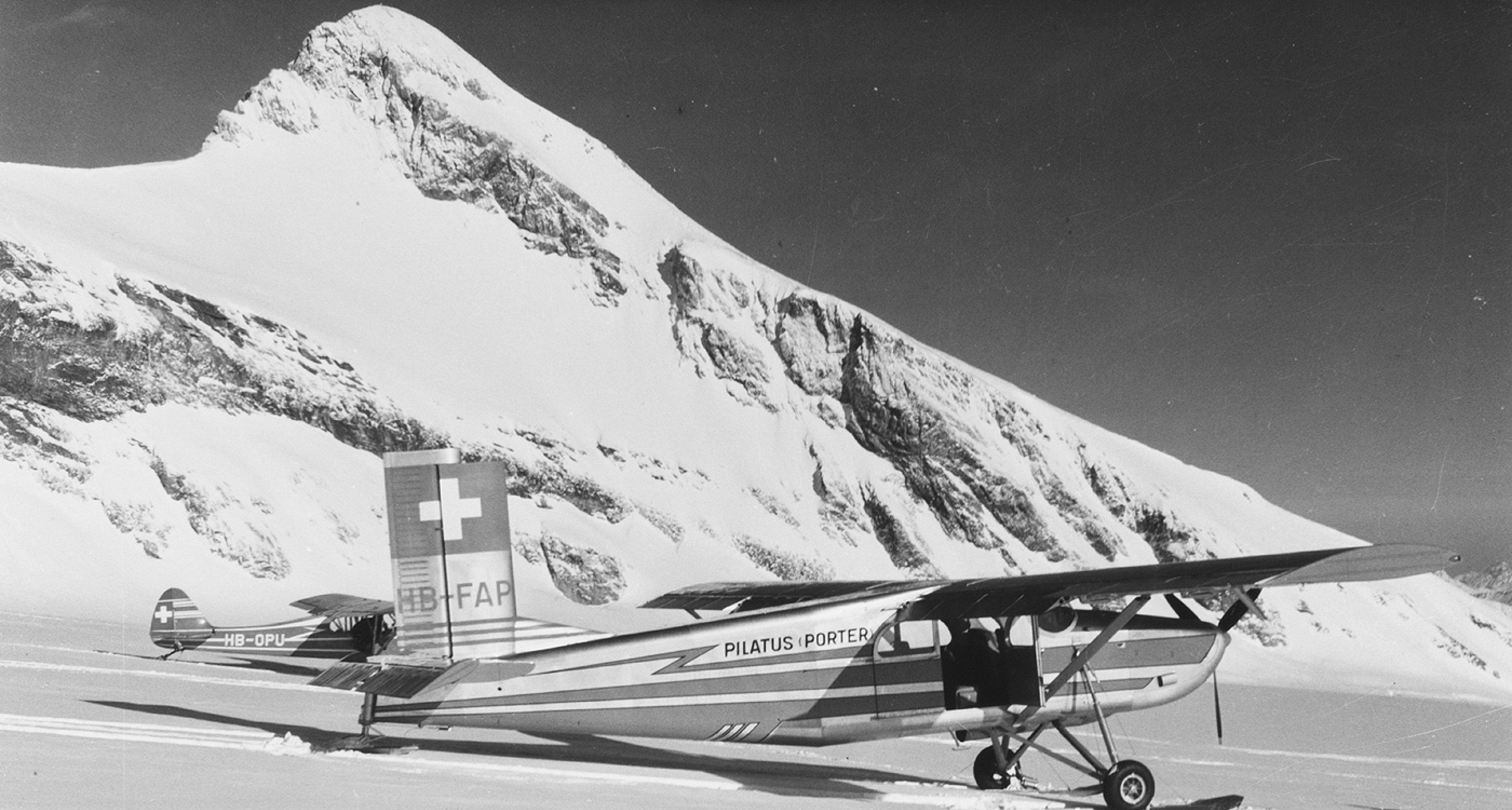 PC-6 Glacier Mountain