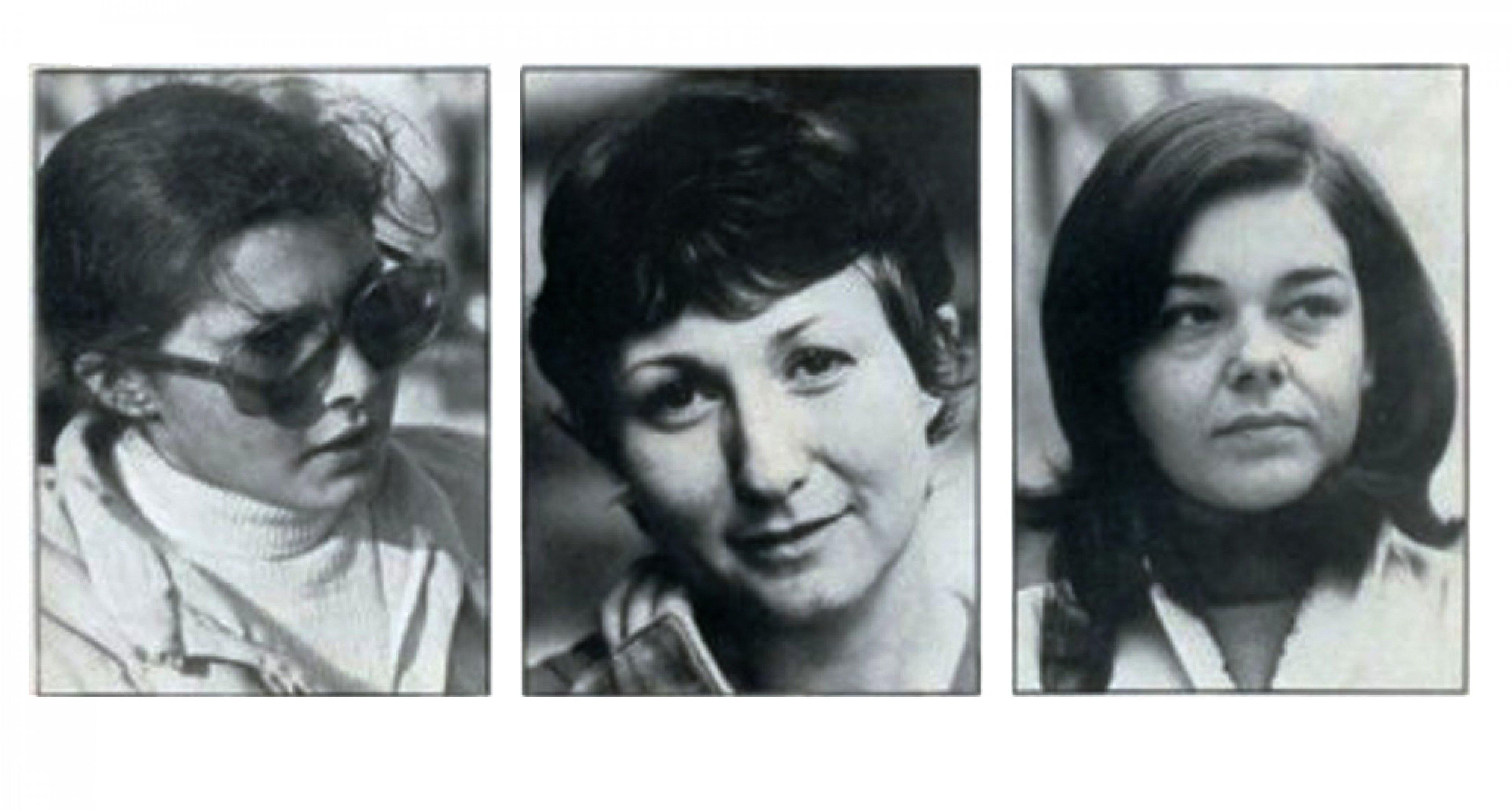 Michèle Mouton, Marianne Hoepfner und Christine Dacremont at Le Mans 1975.