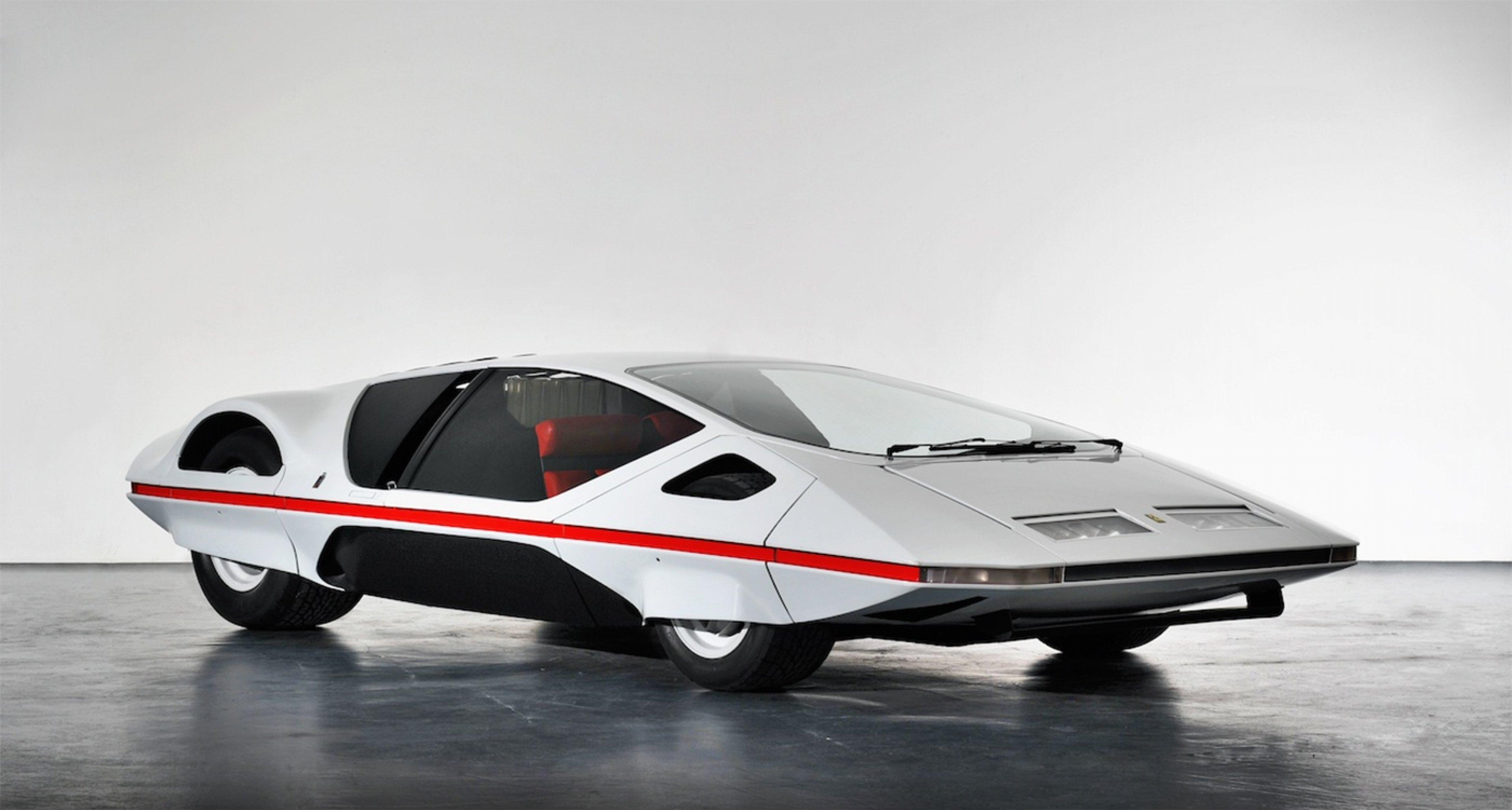 Ferrari Modulo. Photos from Pininfarina SpA.