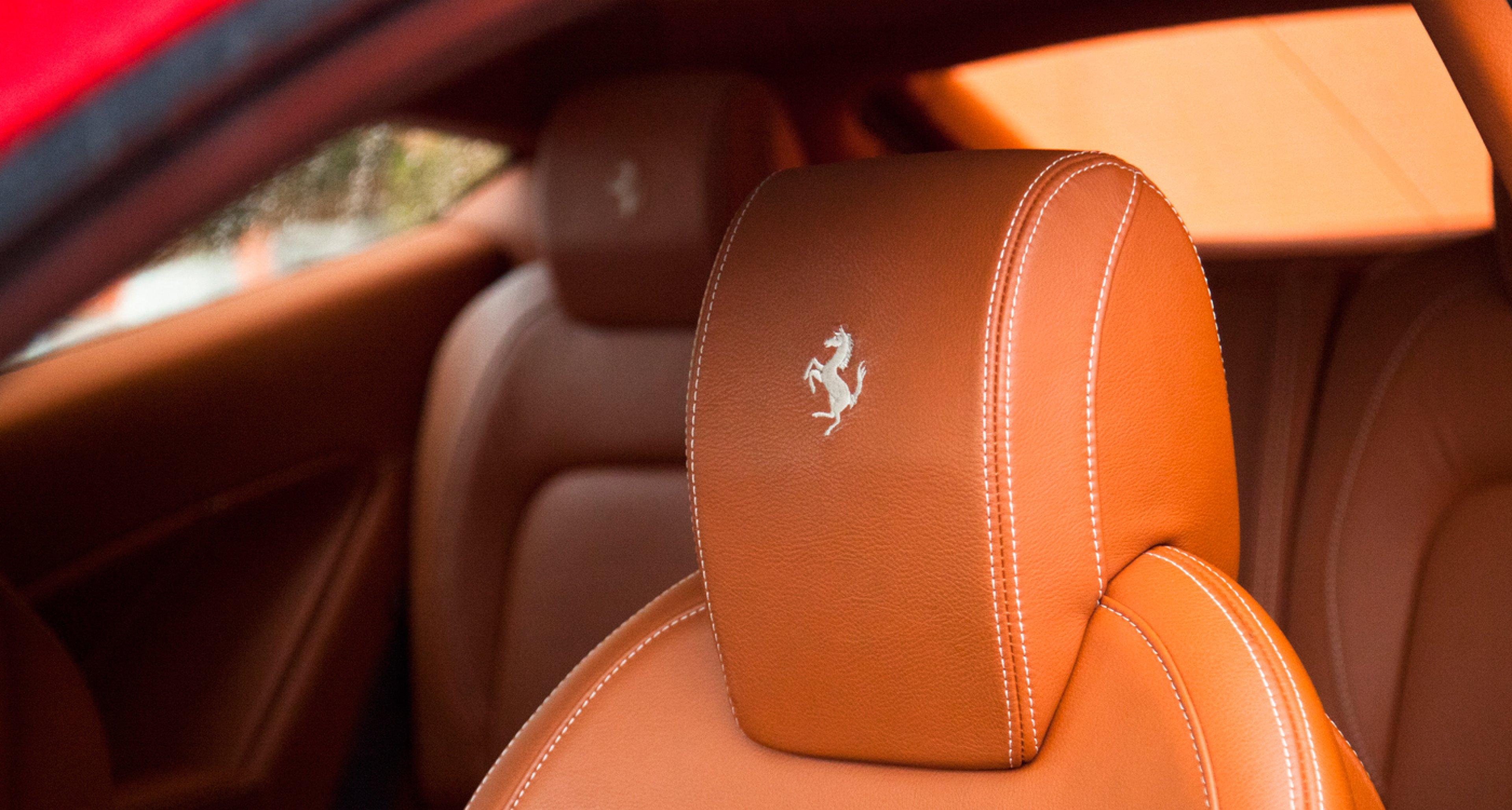 Ferrari FF with Poltrona Frau leather interior.