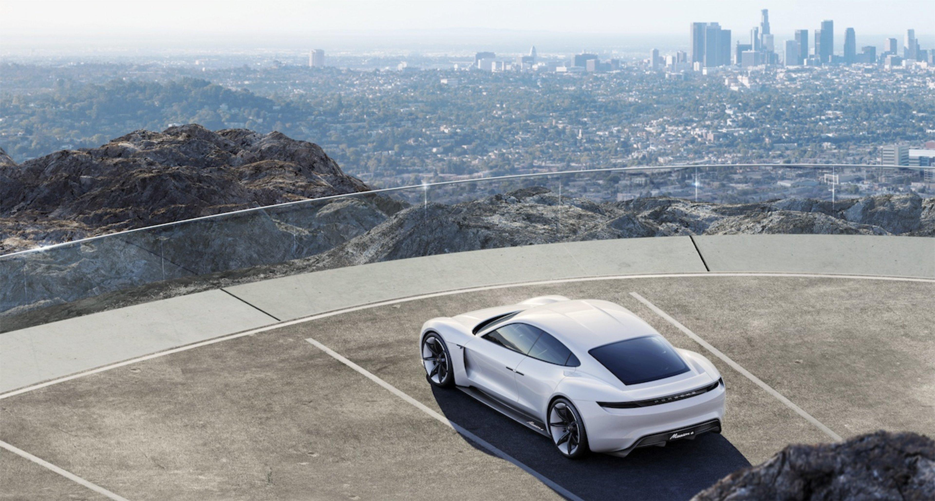 Porsche Concept E.