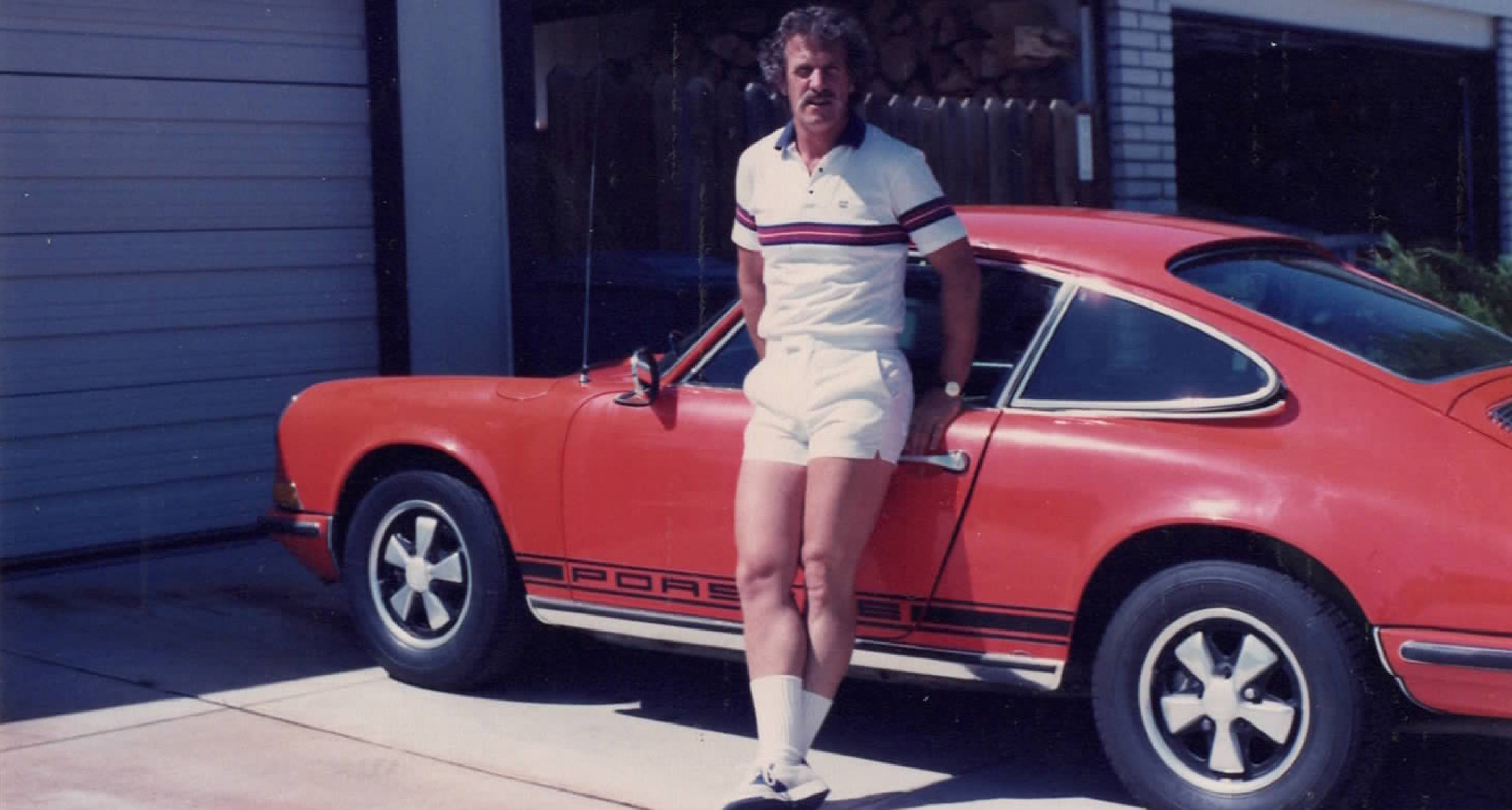 The 'porno Porsche' with its second owner