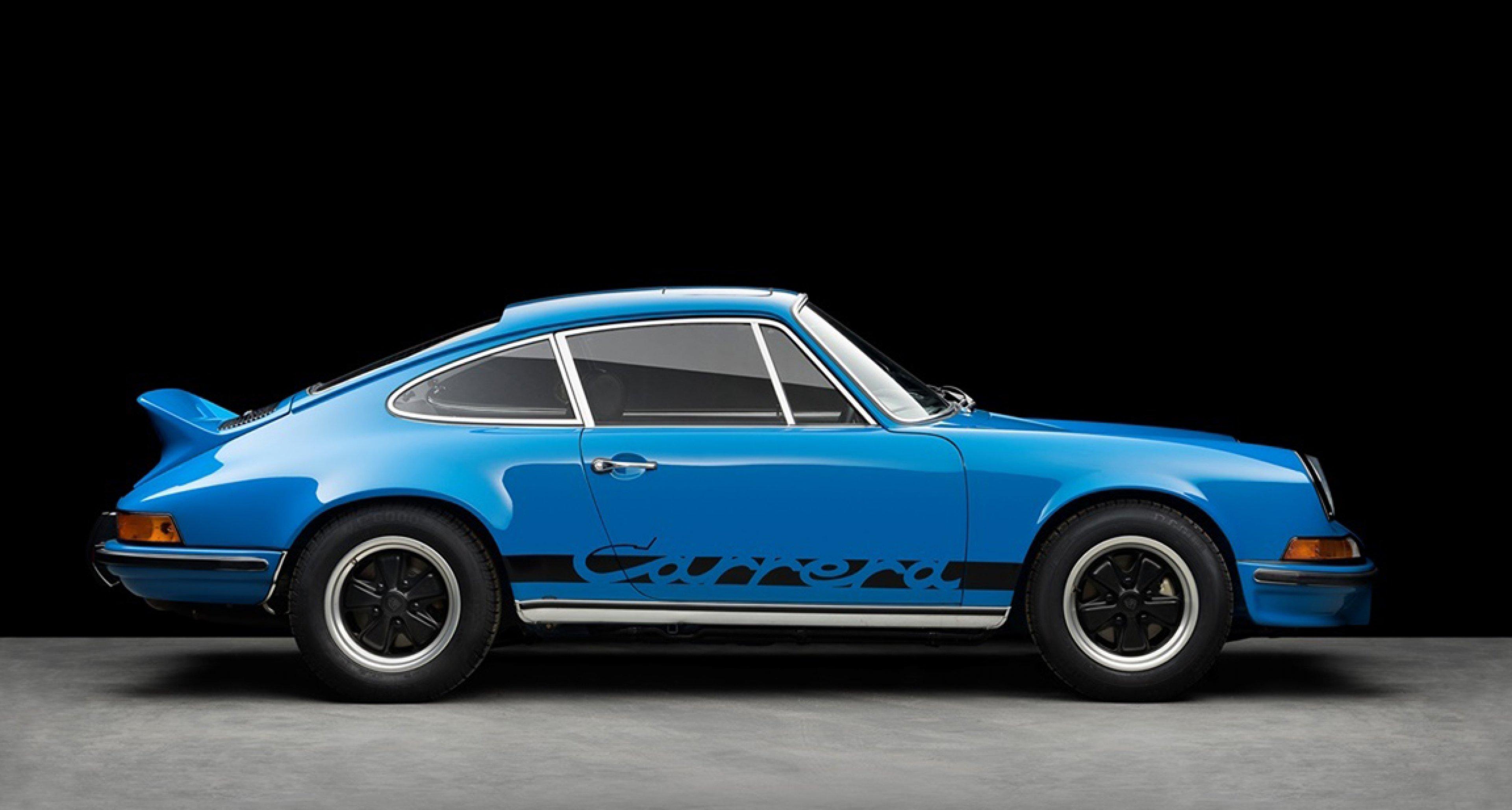 Porsche 911 Carrera RS 2.7 Blue