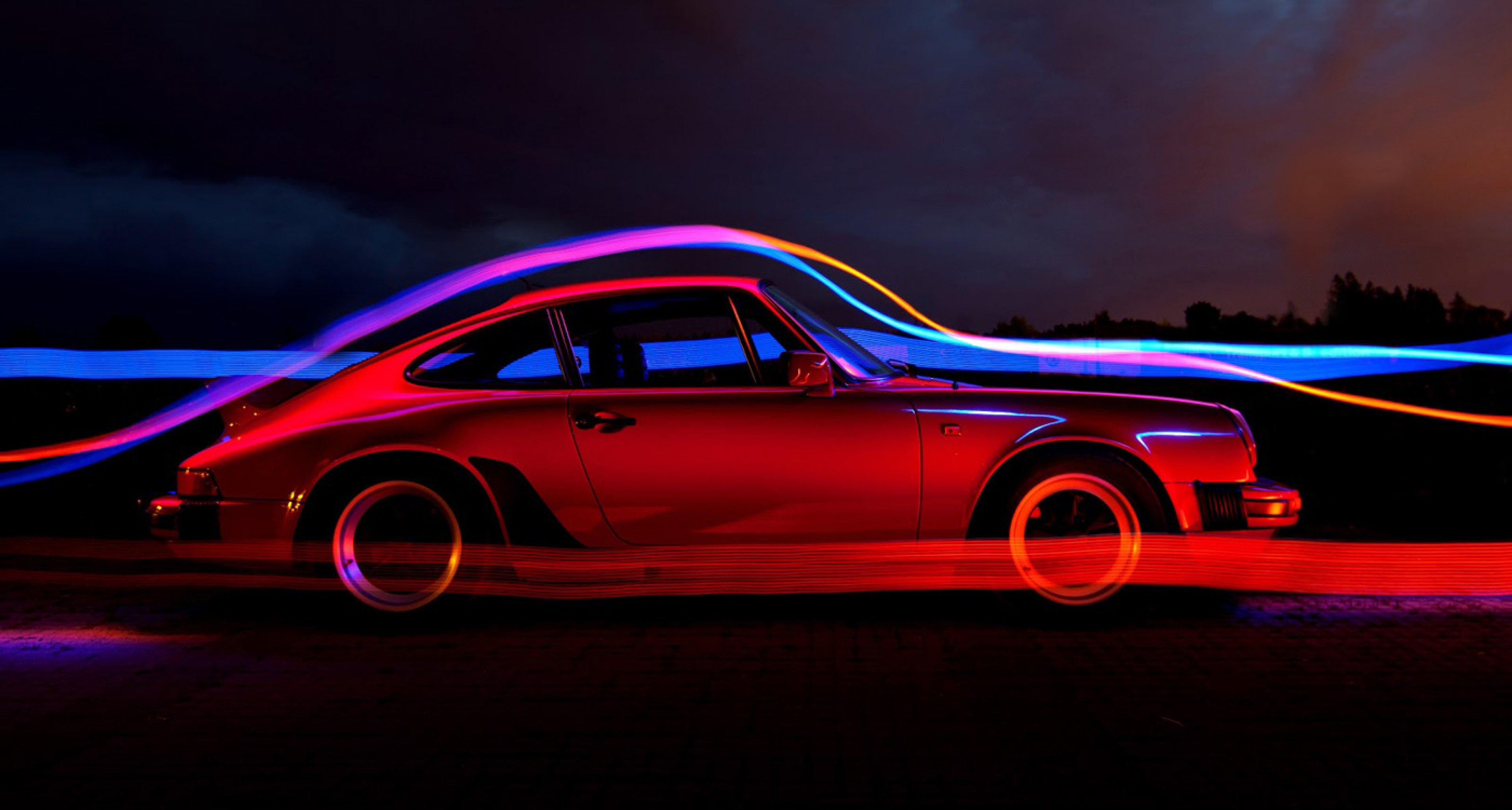 """Porsche 911 """"G"""" in the wind tunnel"""
