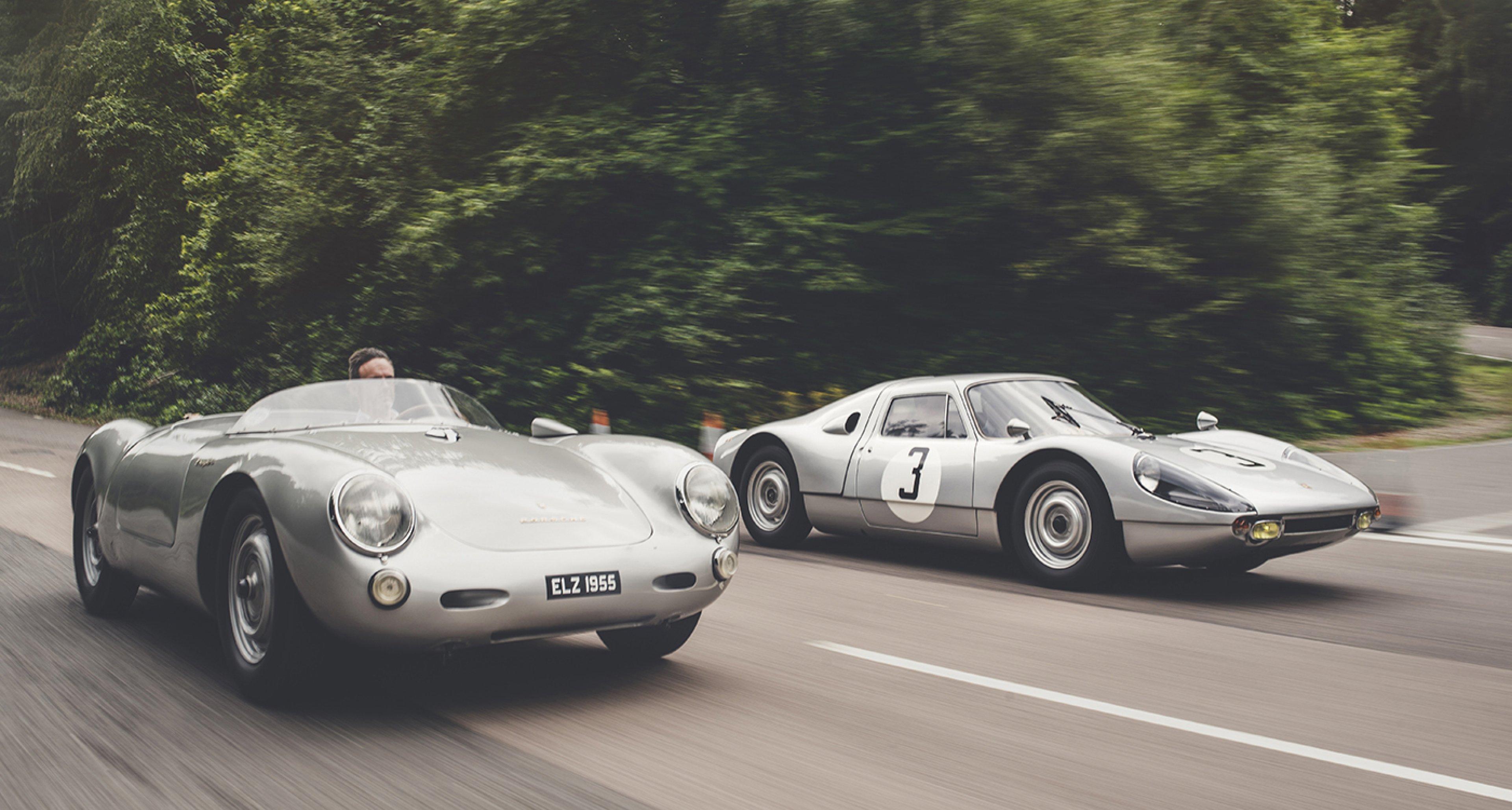 porsches 550 spyder and 904 carrera gts deliver primitive perfection classic driver magazine - Porsche Spyder 550 2014
