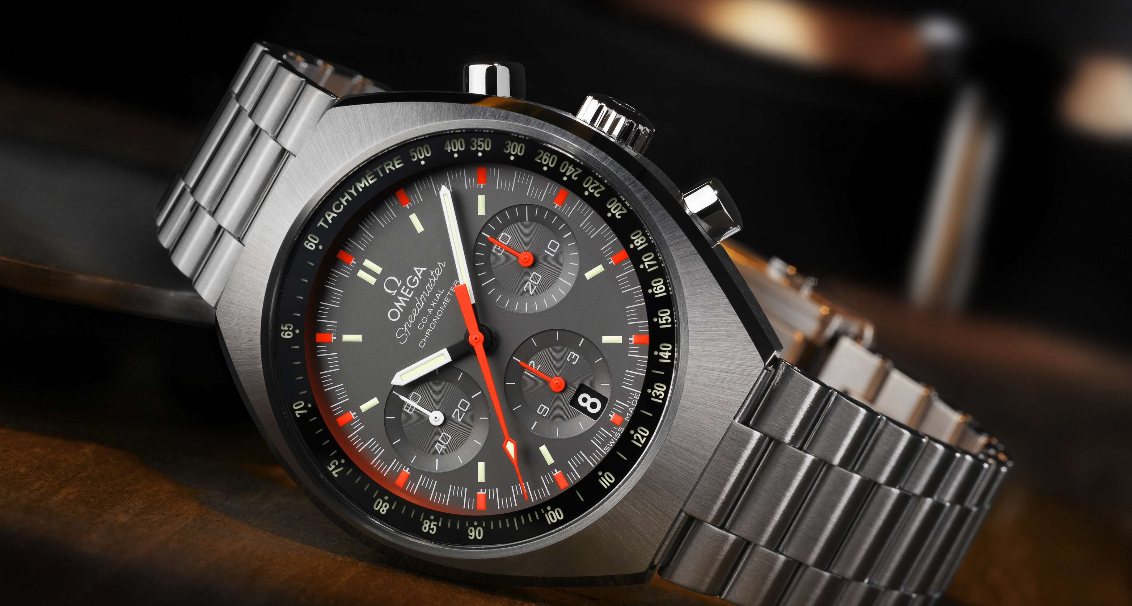 All new Omega Speedmaster MK II: To be presented at the Basel World 2014