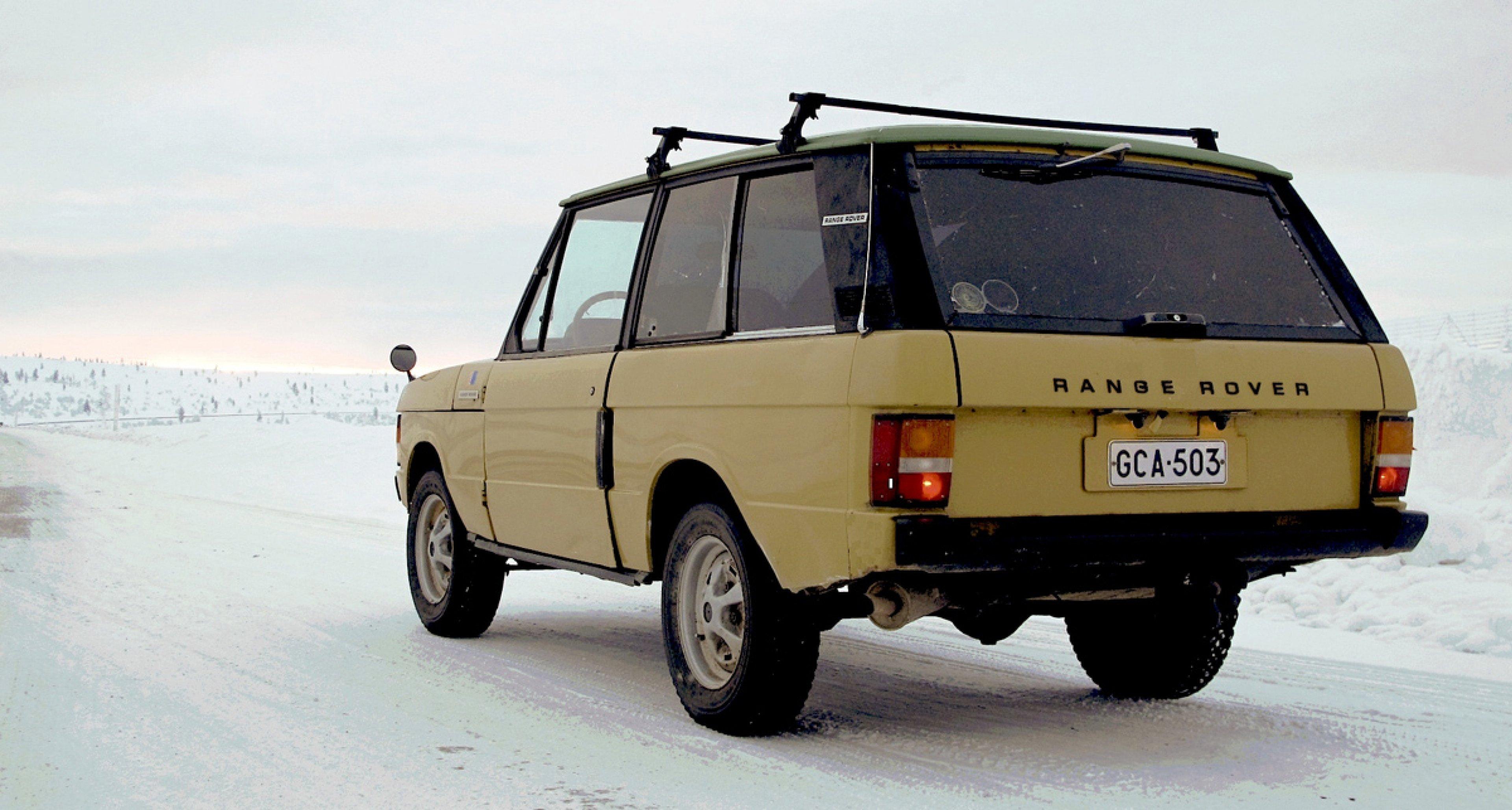 Range Rover Classic Lapland