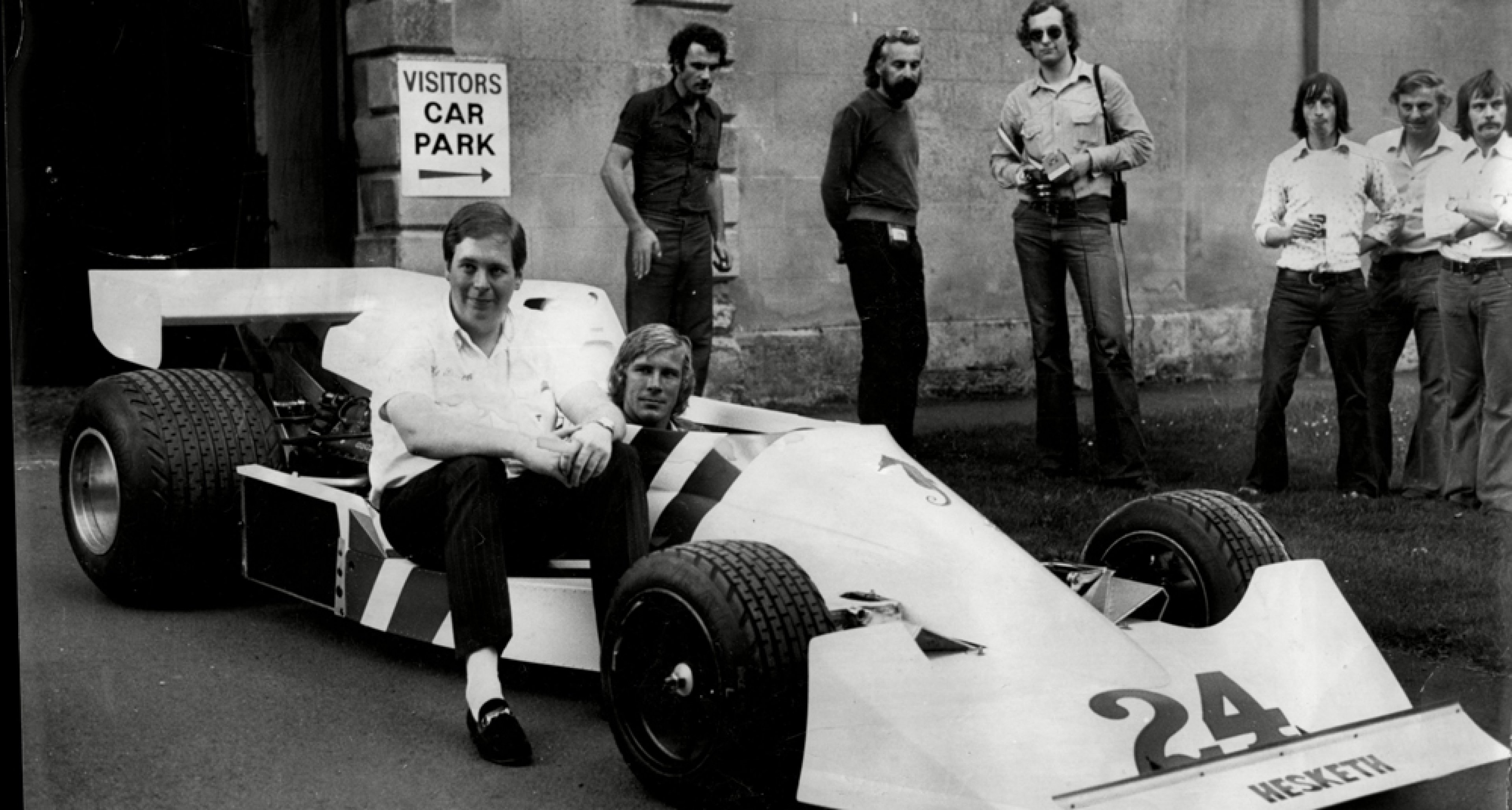 Lord Hesketh and James Hunt