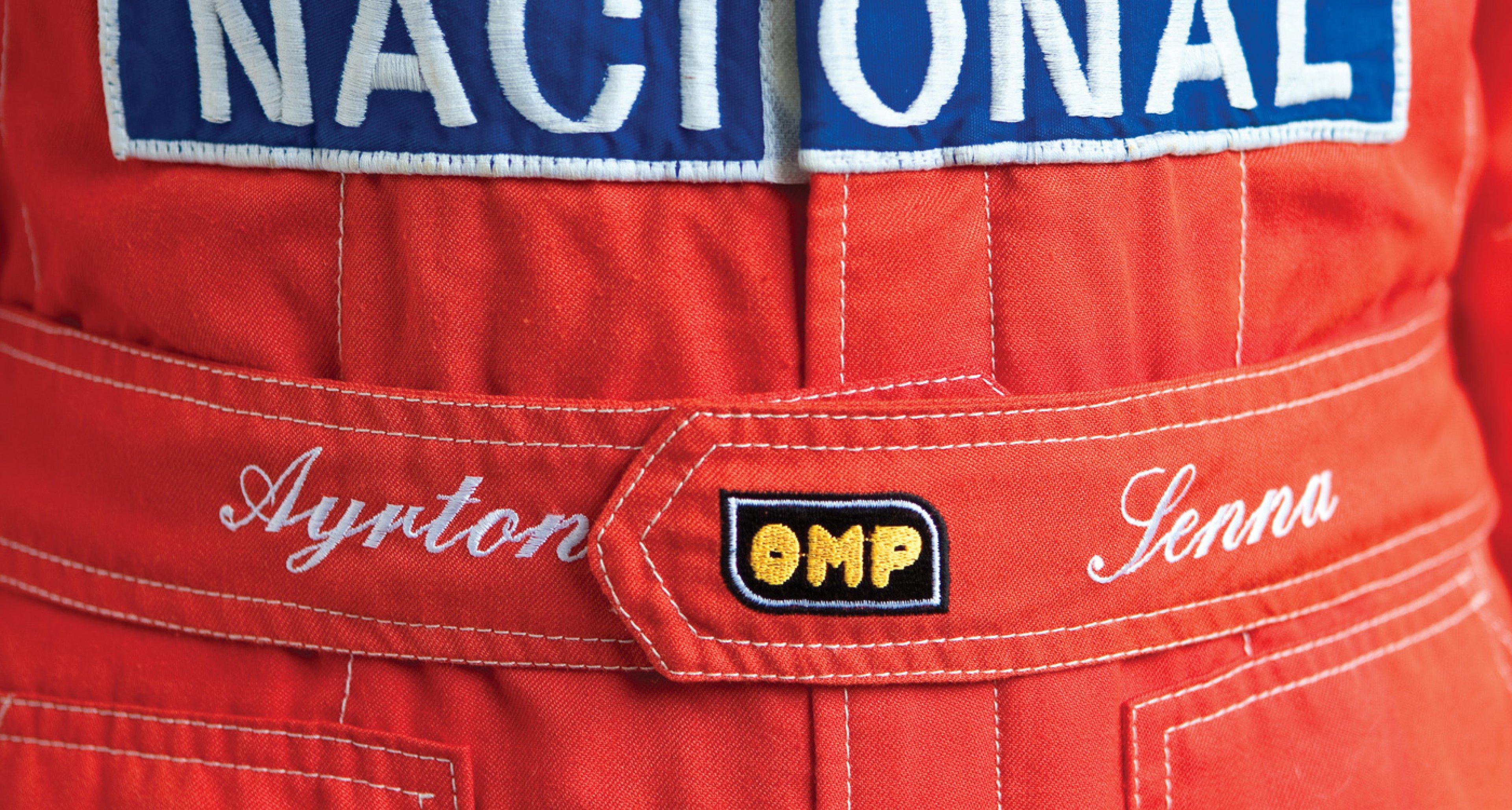 Lot 104 / 1991 Ayrton Senna F1 Race Suit / € 55,575