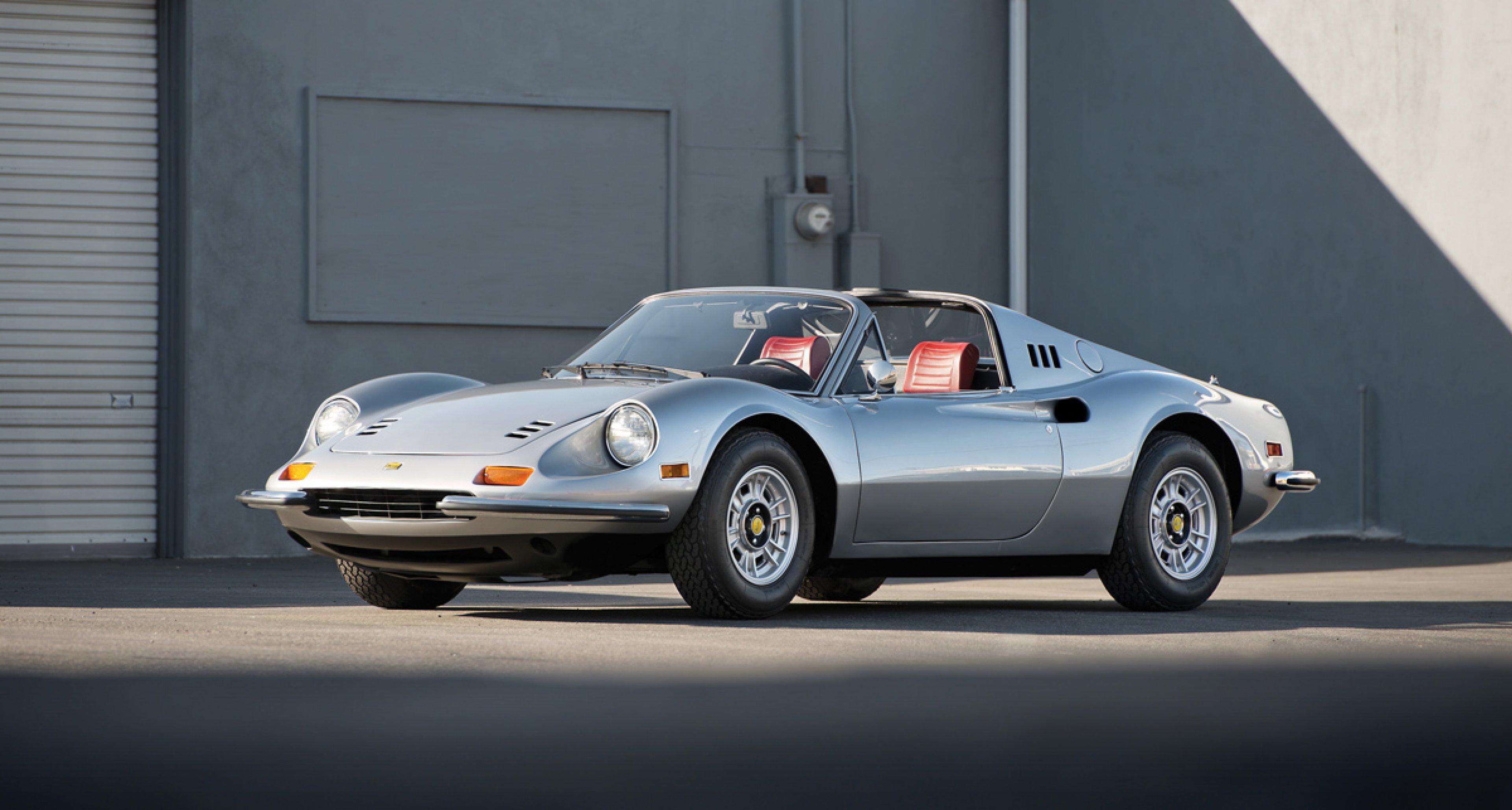 RM Auctions 1974 Ferrari Dino 246 GTS