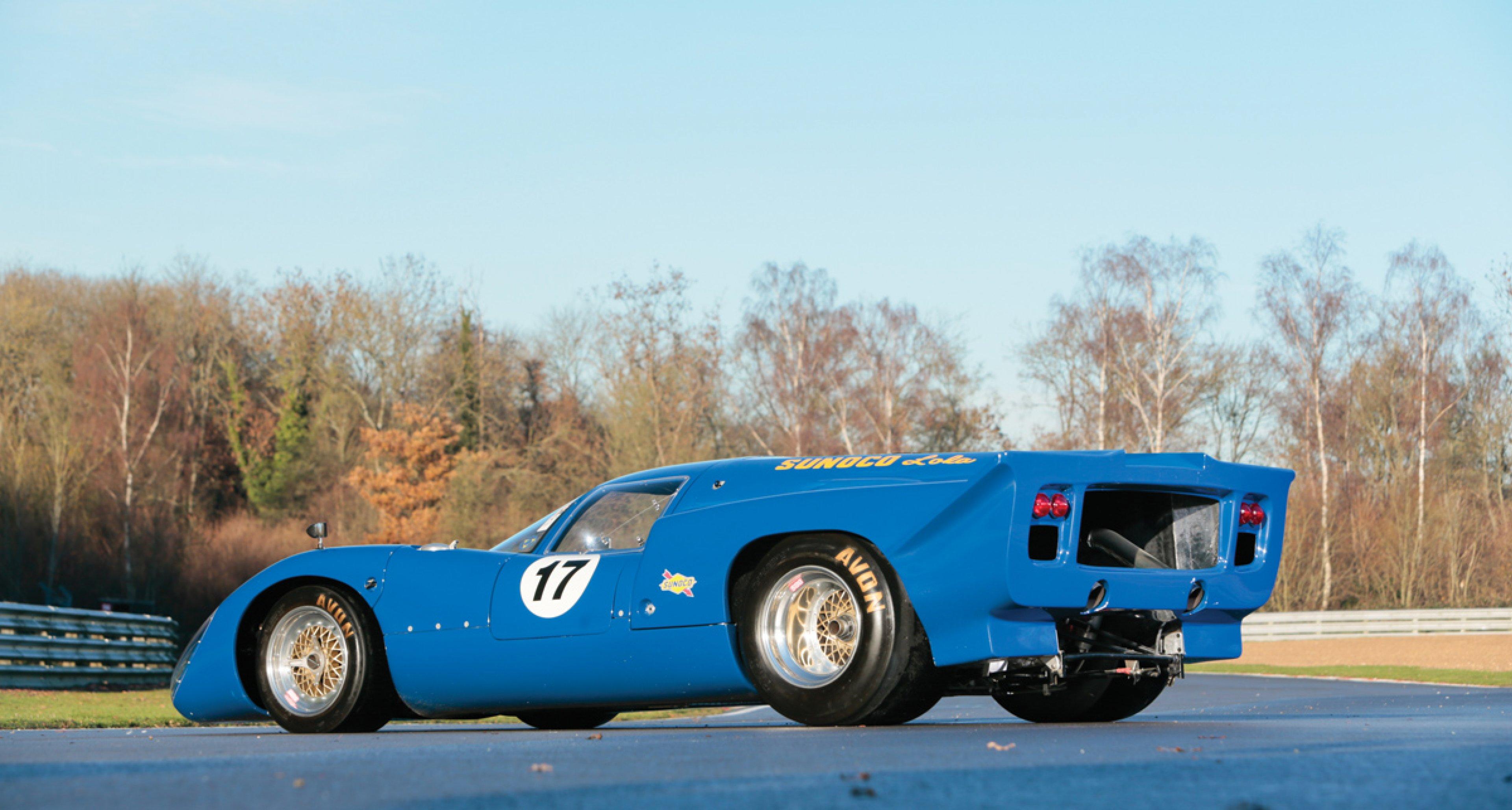Lot 26: 1969 Lola T70 Mk IIIb by Sbarro € 295.000 - 355.000