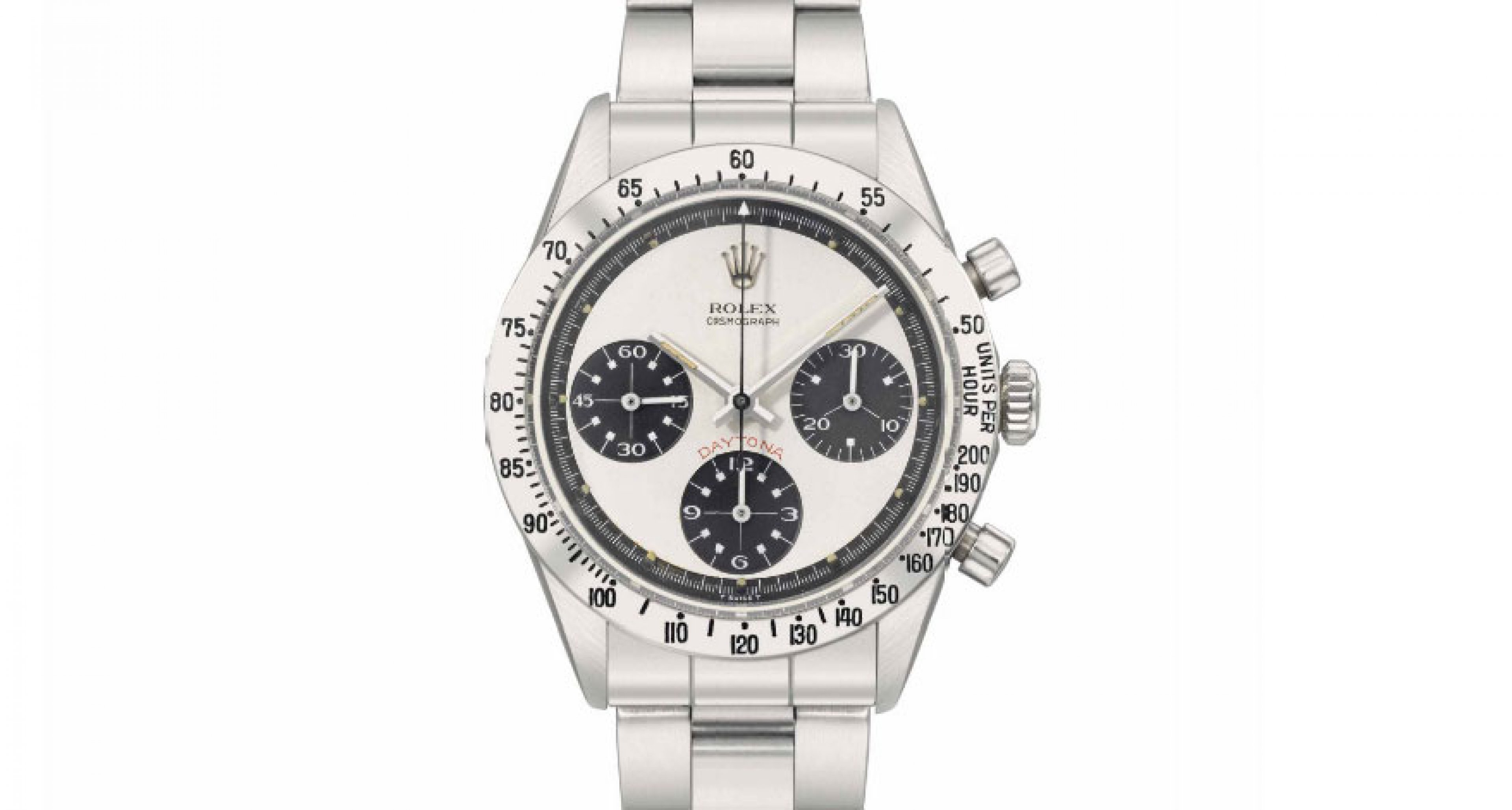 Custom made for the Peruvian air force this Rolex Daytona was sold by Chrisite's for 100.000 Swiss Francs