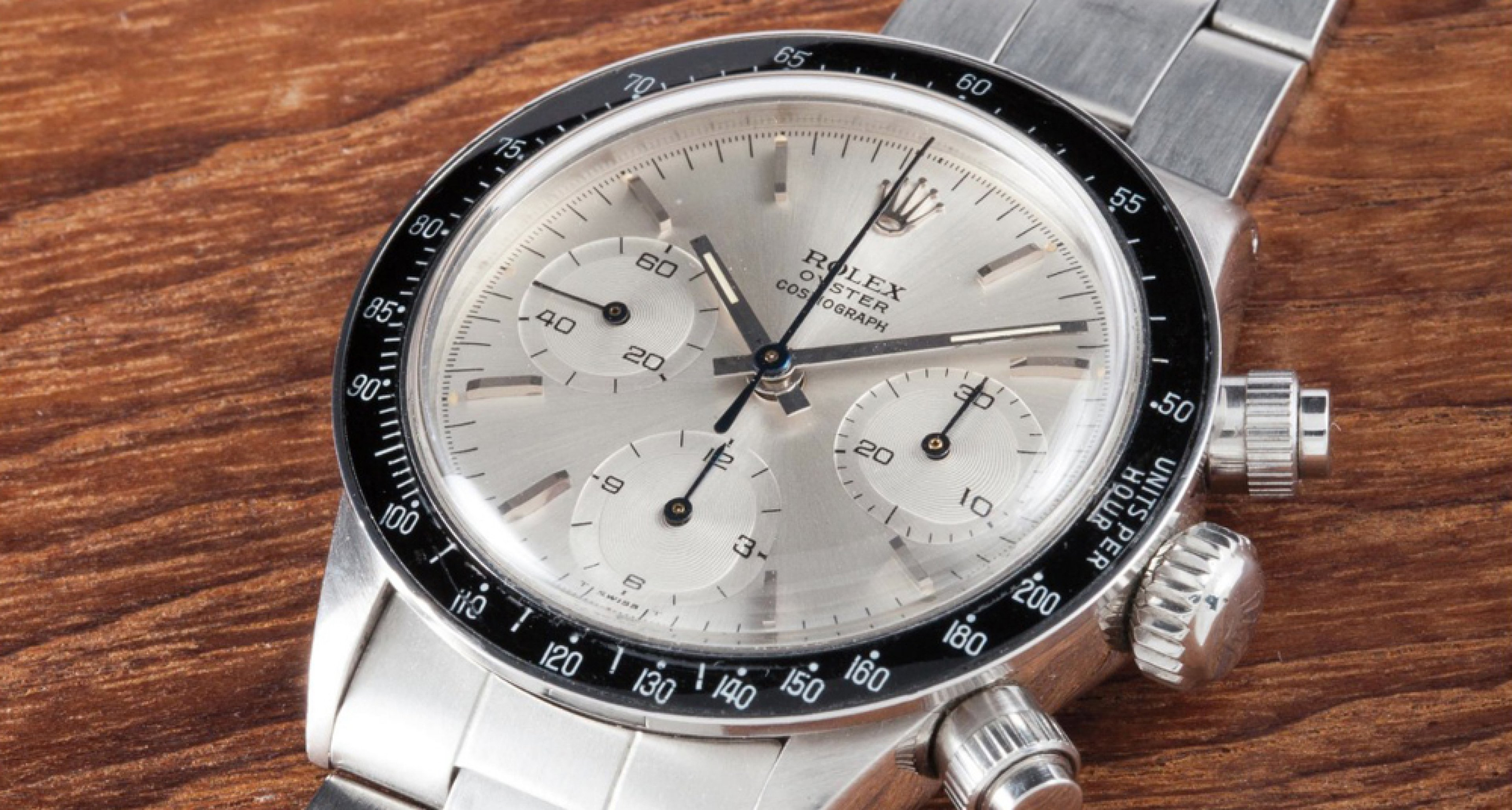 """The Rolex Cosmograph """"Albino"""" was formerly owned by Eric """"Slow Hand"""" Clapton and sold for 1.2 Million Euros"""