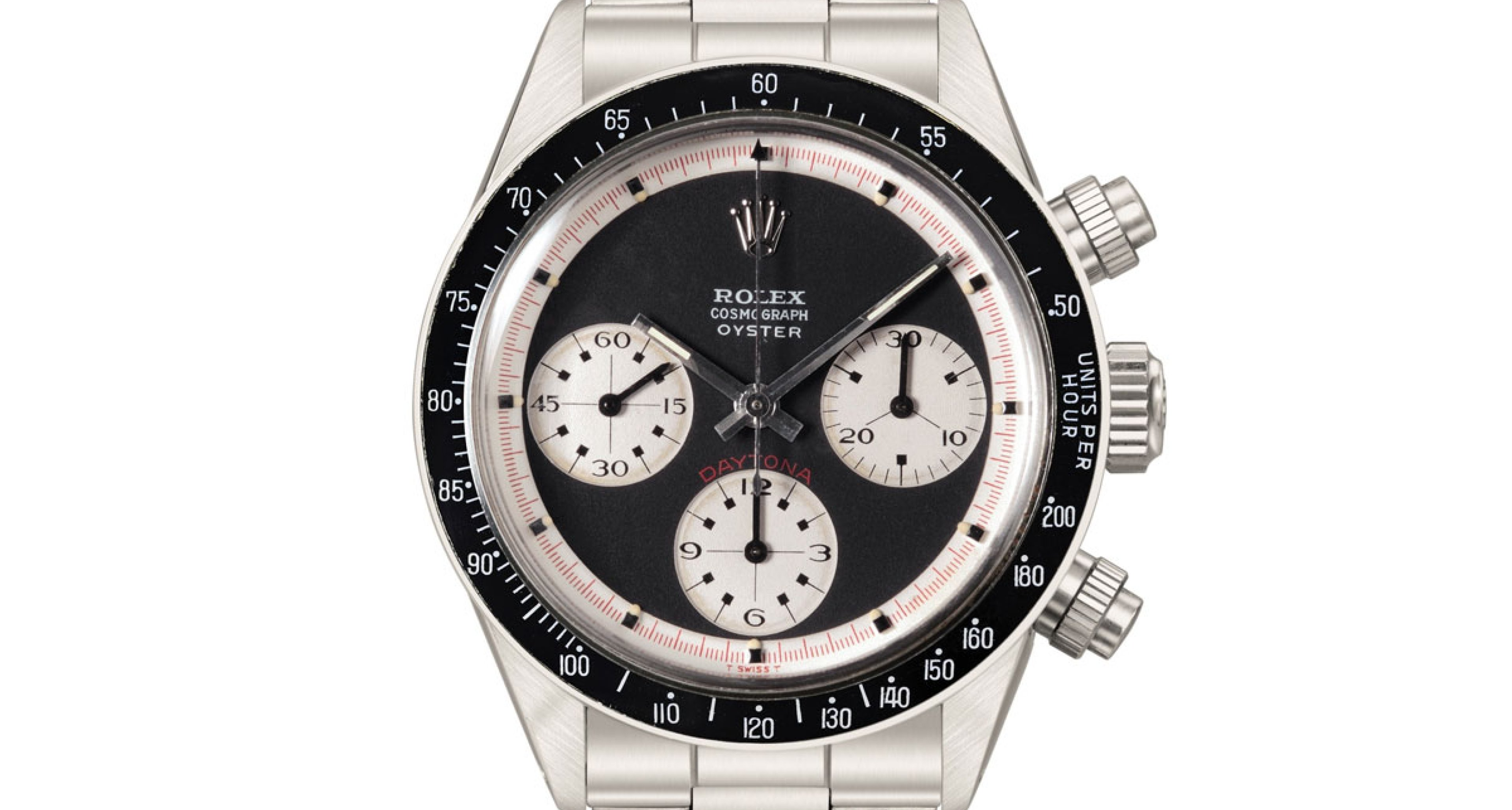 """Rolex Daytona """"Paul Newman Oyster Sotto"""" sold for 989.000 CHF"""