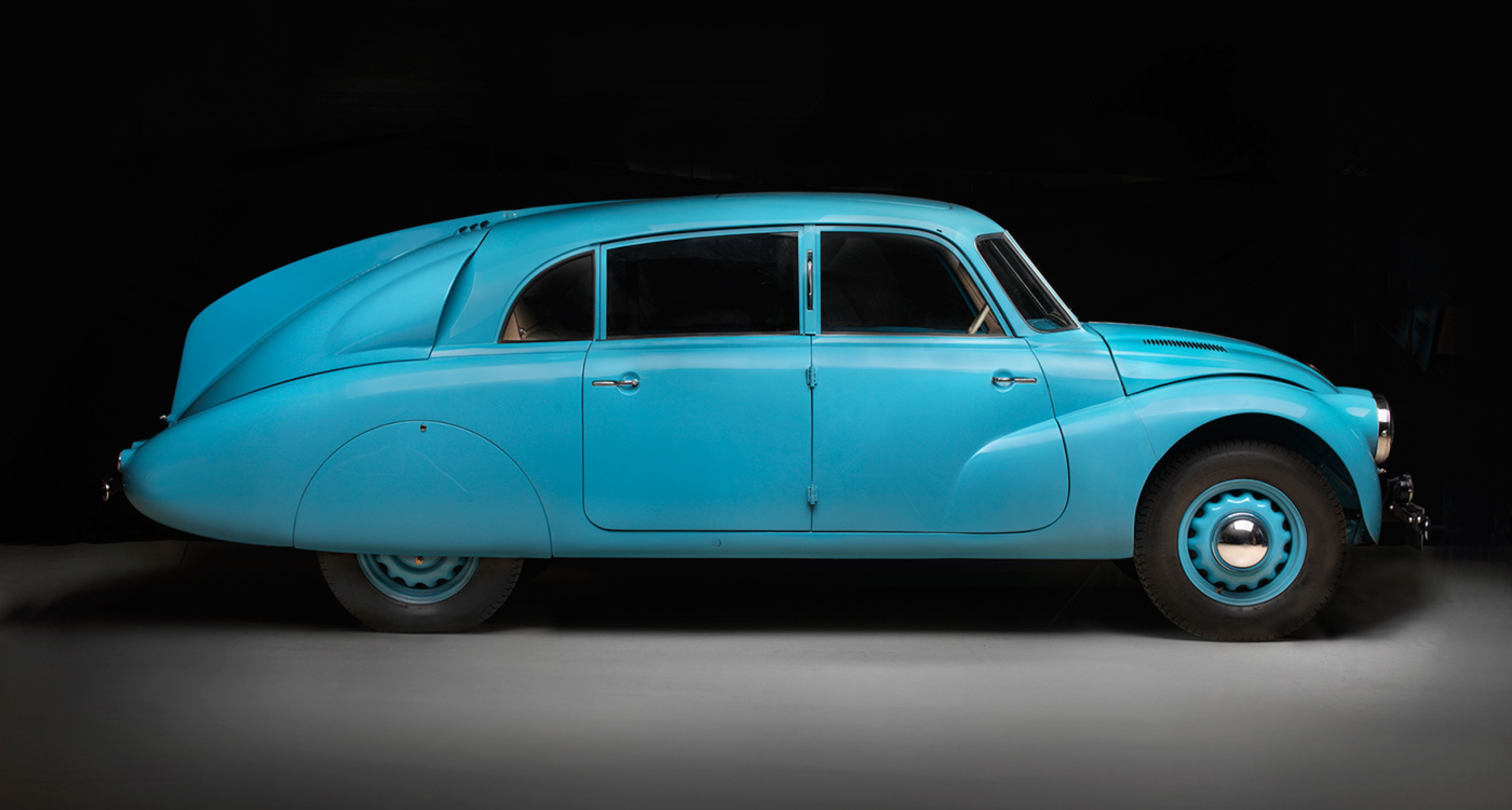 Tatra T87, 1940, Courtesy of Chris Ohrstrom; Photo © 2016 Peter Harholdt