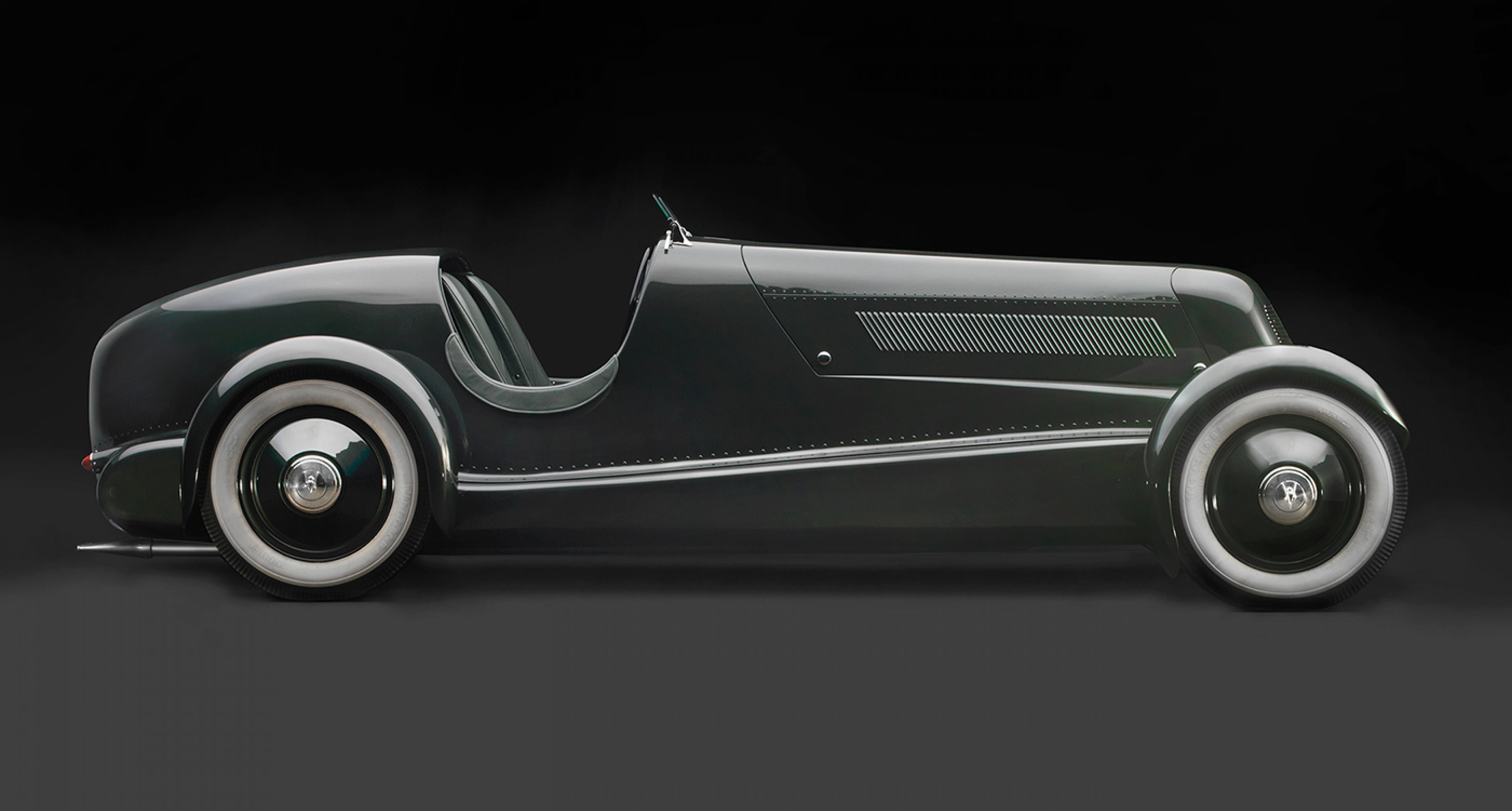 Edsel Ford's Model 40 Speedster, 1934, Courtesy of the Edsel and Eleanor Ford House; Photo © 2016 Peter Harholdt