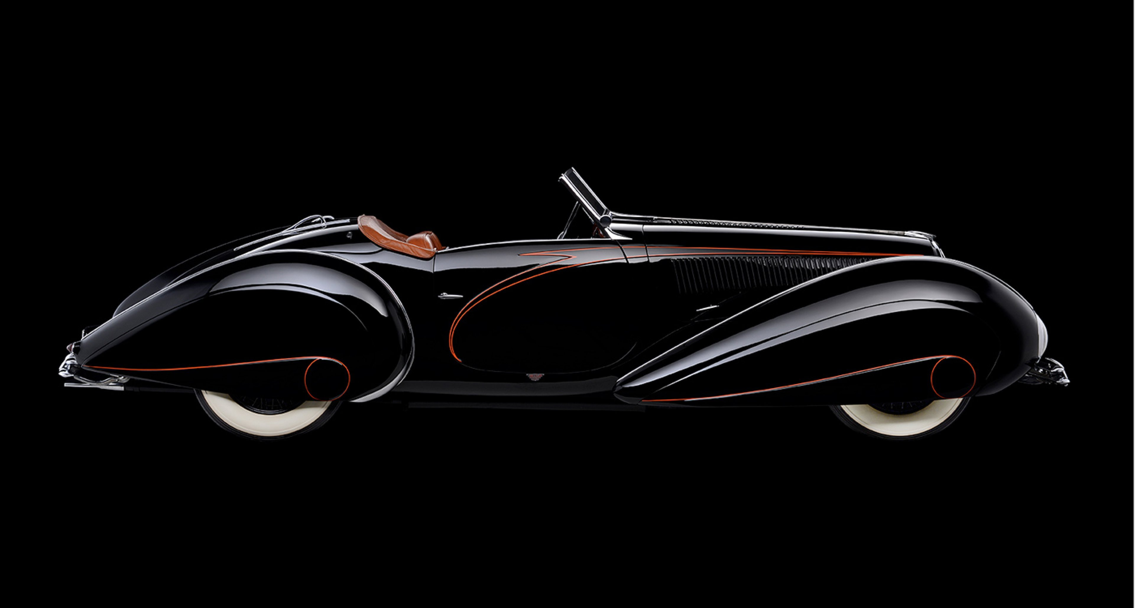 Delahaye 135MS Figoni Roadster, 1937, Collection of Margie and Robert E. Petersen; Photo © 2016 Scott Williamson, Photodesign Studios