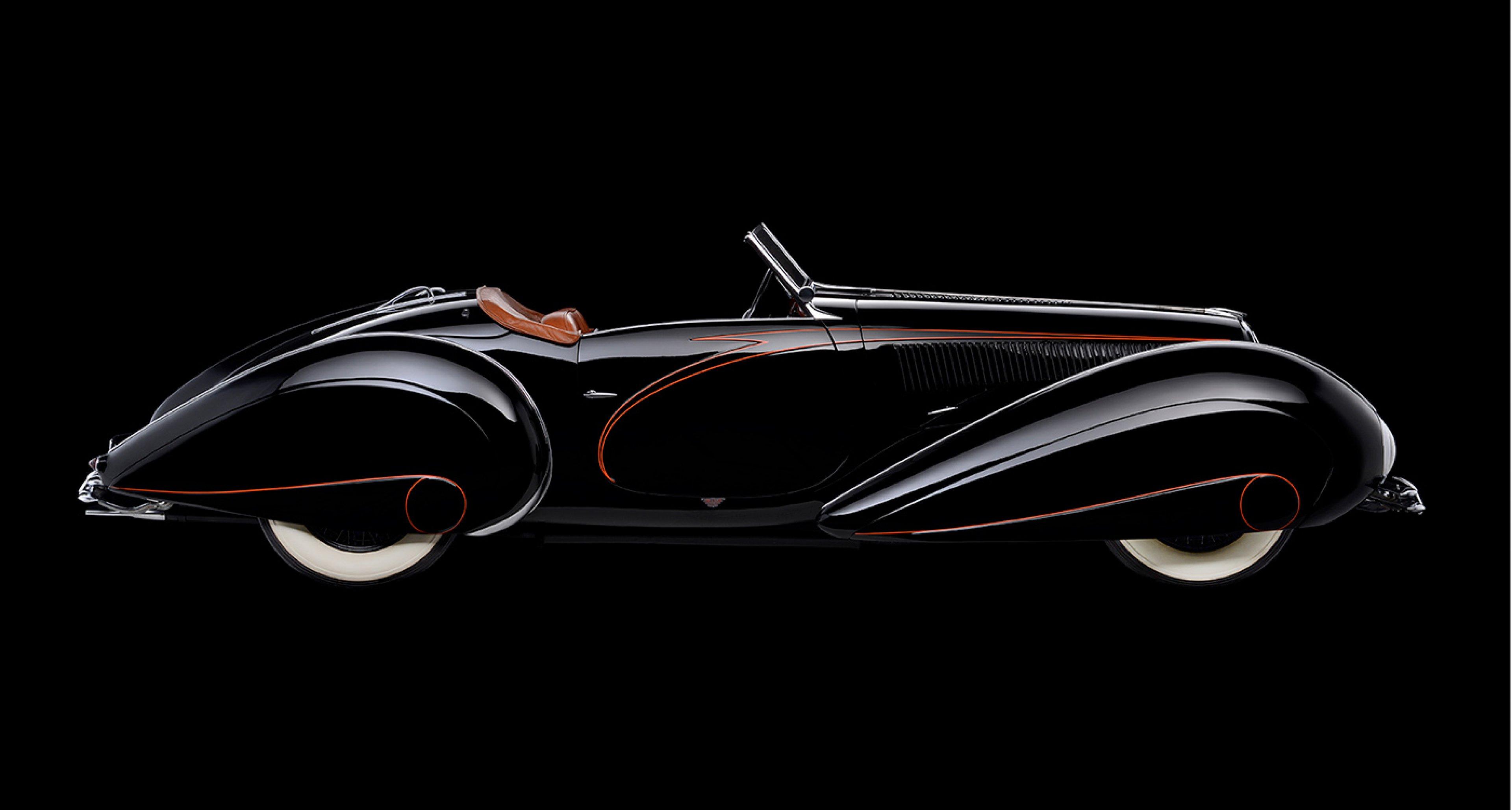 Delahaye 135MS Figoni Roadster, 1937, Collection of Margie and Robert E. Petersen; Photo © 2016 Scott Williamson, Photodesign Studios