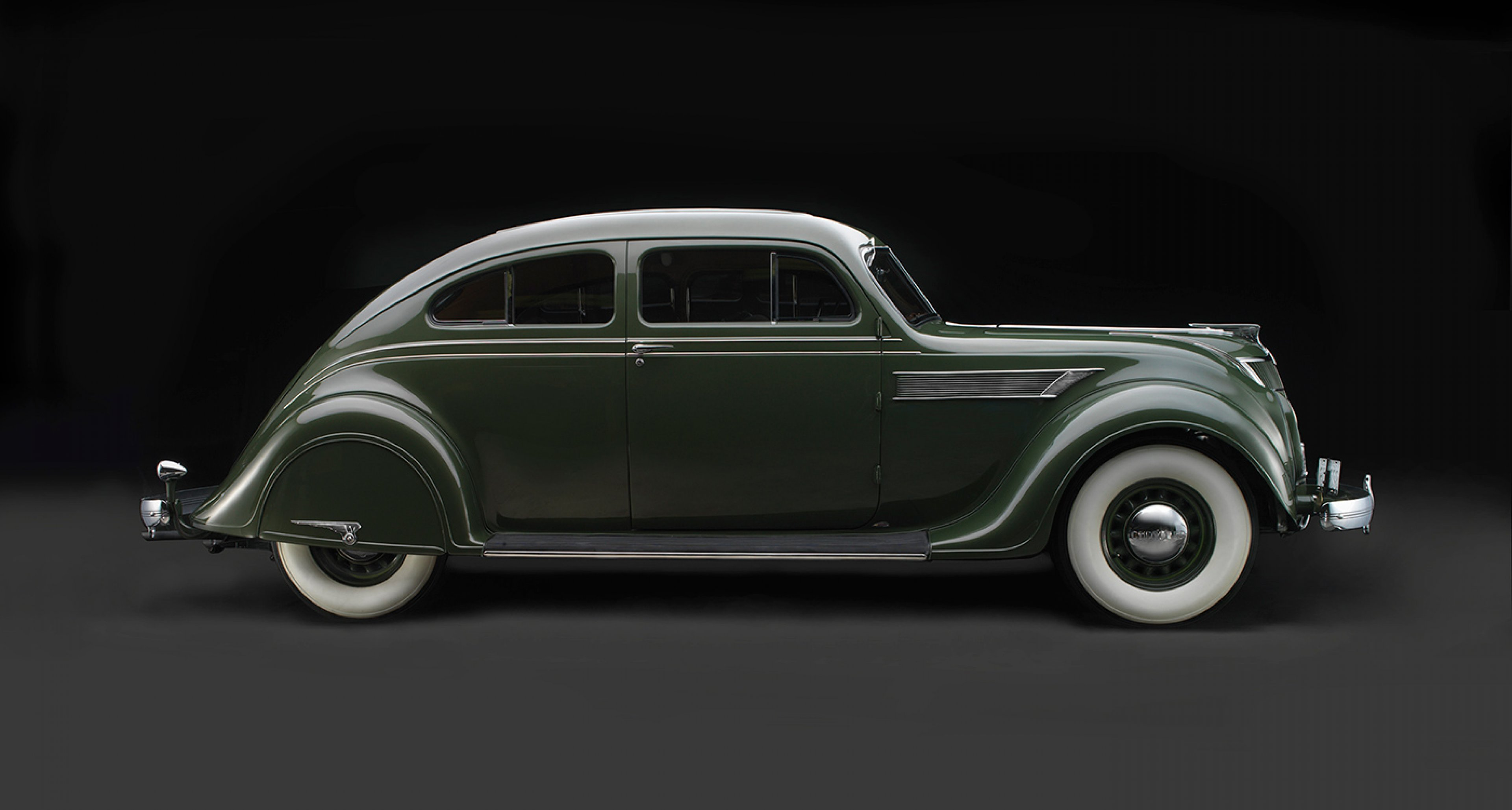 Chrysler Imperial Model C-2 Airflow, 1935, Collection of John and Lynn Heimerl, Suffolk, Va.; Photo © 2016 Peter Harholdt