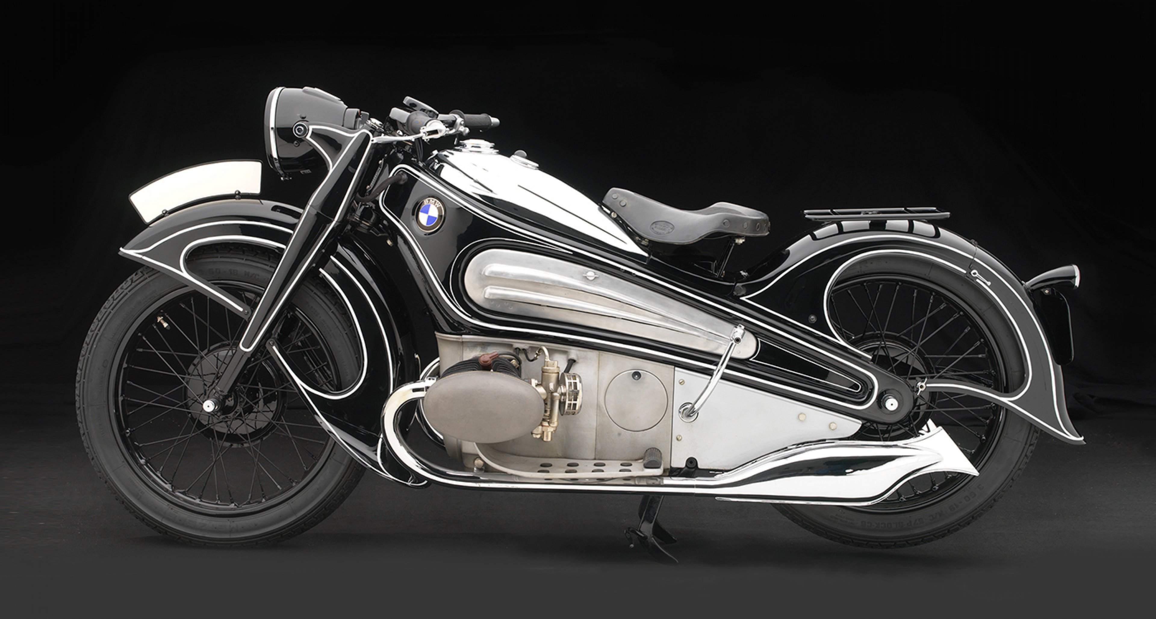 BMW R7 Concept Motorcycle, 1934, BMW Classic Collection; Photo © 2016 Peter Harholdt