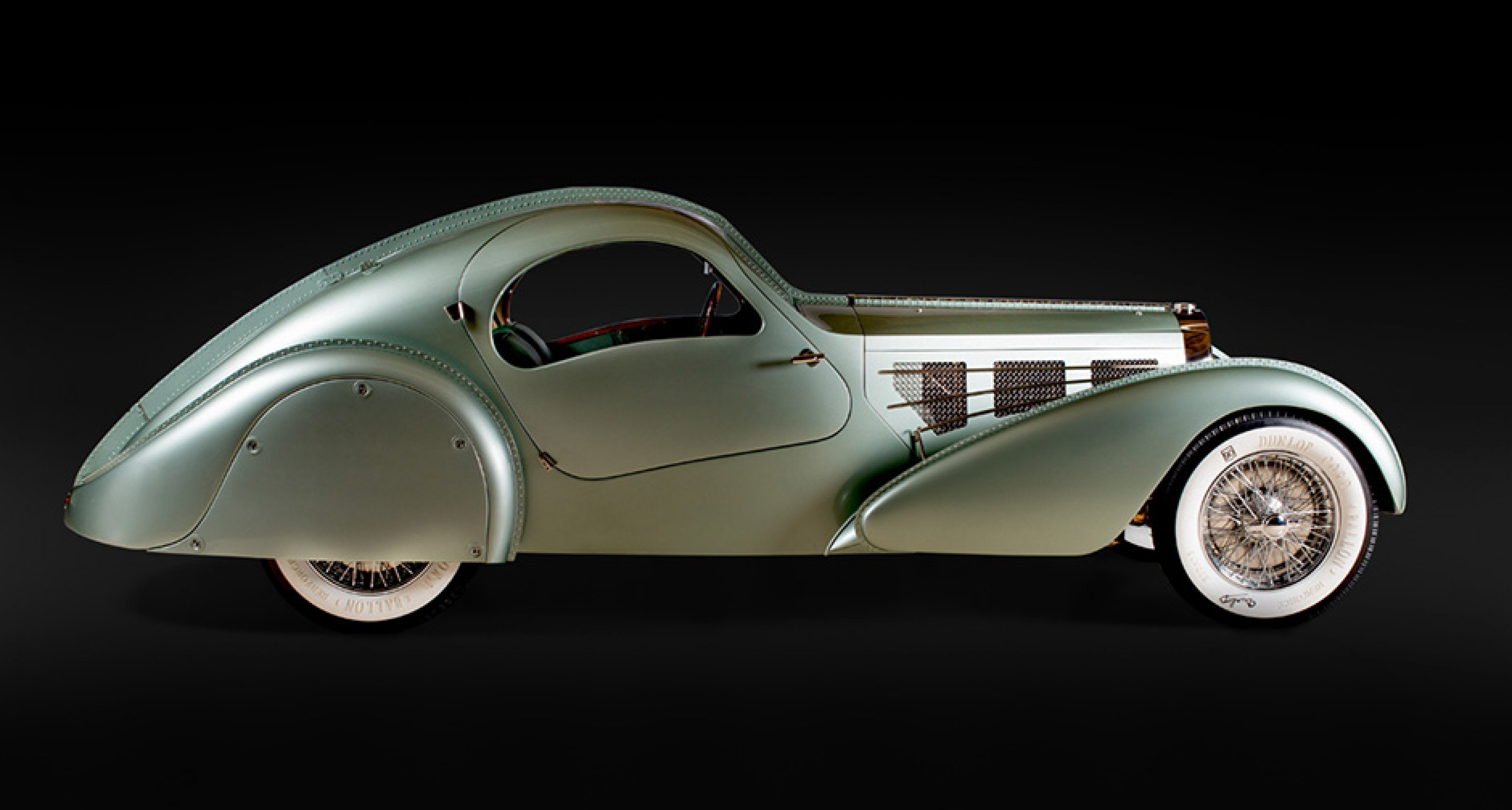 Bugatti Aérolithe, 1935, Courtesy of Chris Ohrstrom; Photo © 2016 Joe Wiecha