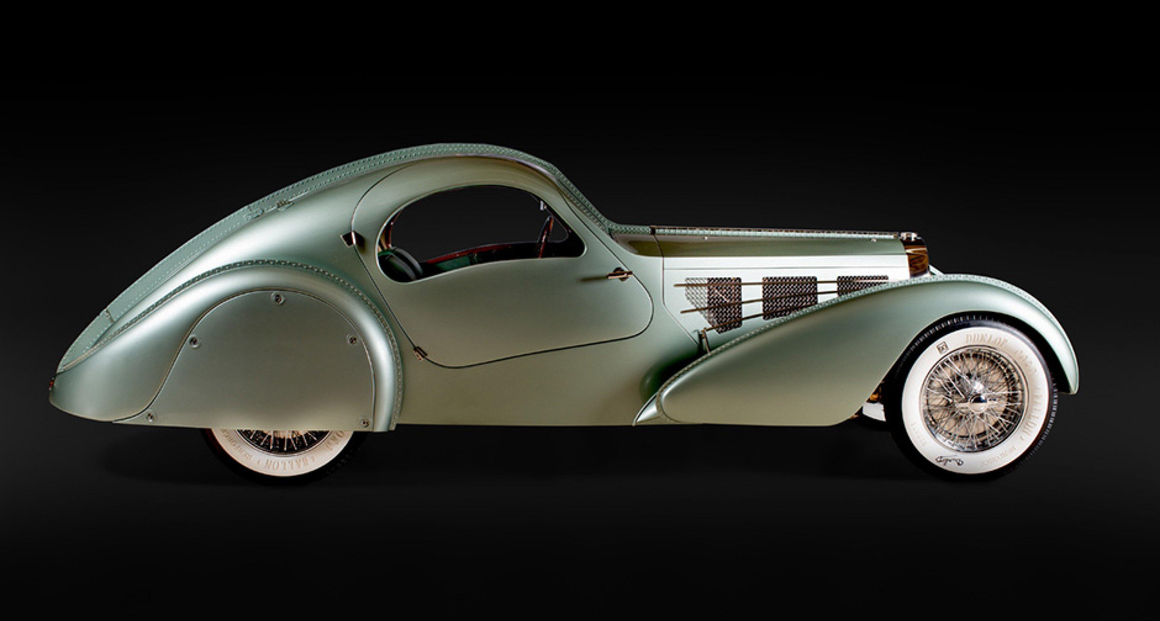 Bugatti Aérolithe, 1935, Courtesy of Chris Ohrstrom; Photo © 2016 Joe Wiecha