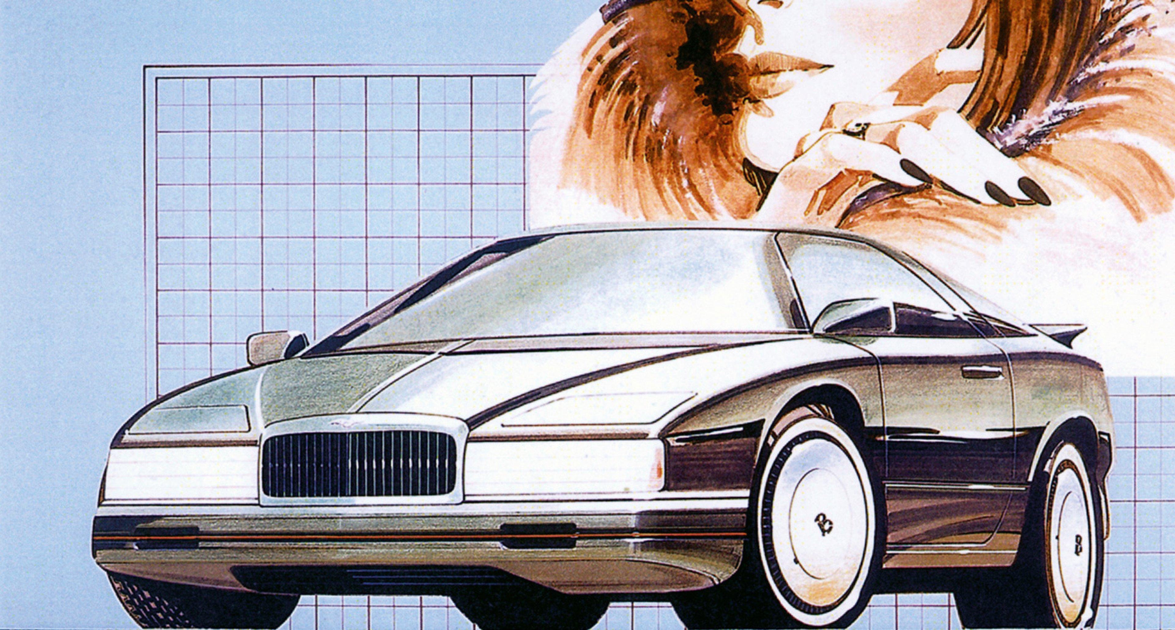 A 1984 proposal for a sporty Bentley coupé