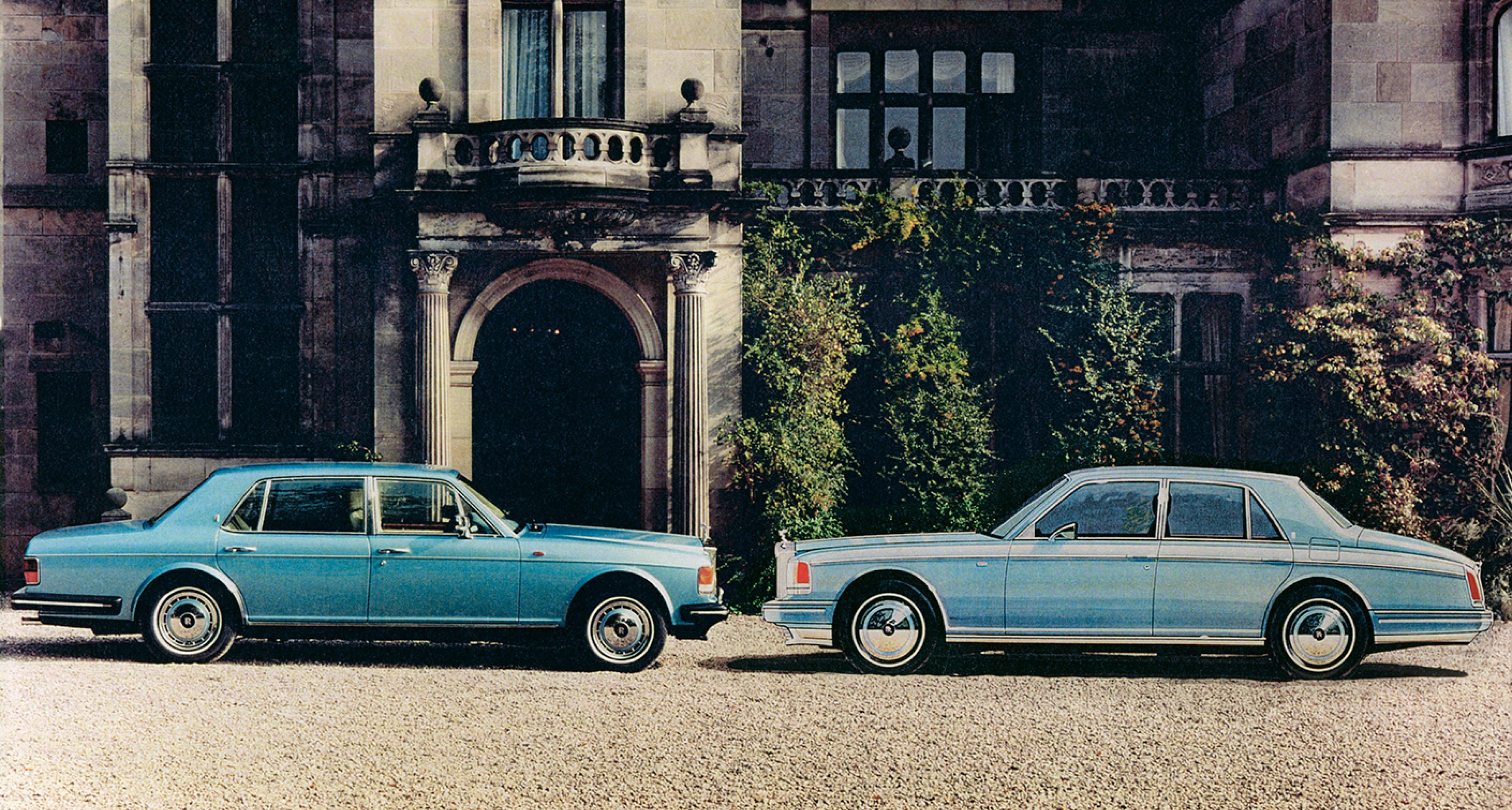 1990: A 'Cloudesque' proposal for the Rolls-Royce Silver Spirit family