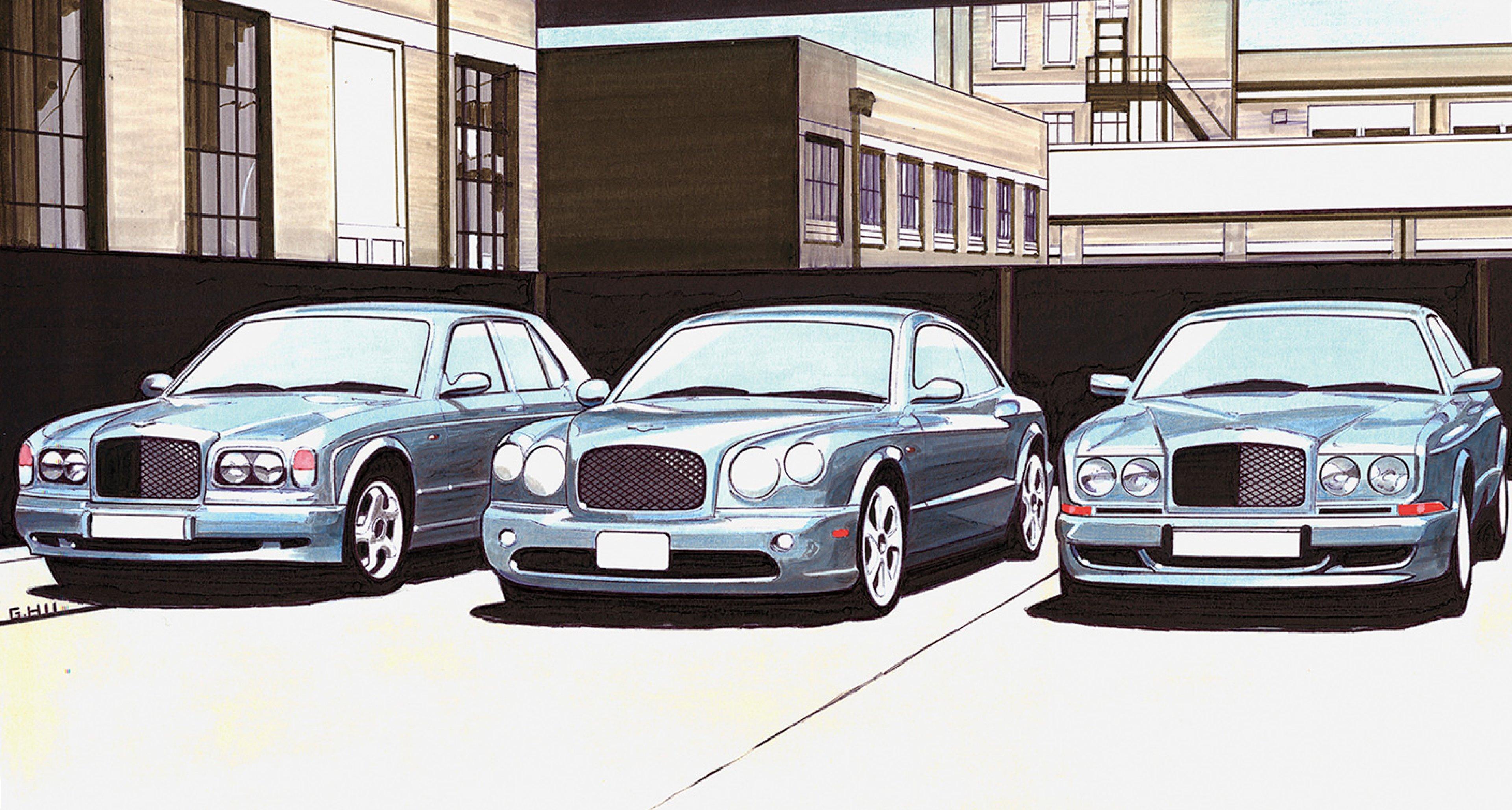 1998: 'Project Bali' envisaged a new Bentley two-door