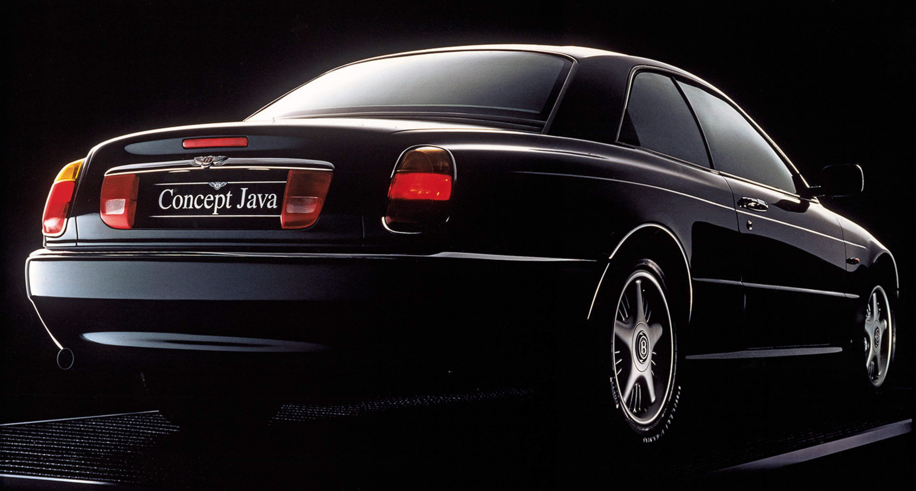 Concept Java coupé of the mid-90s