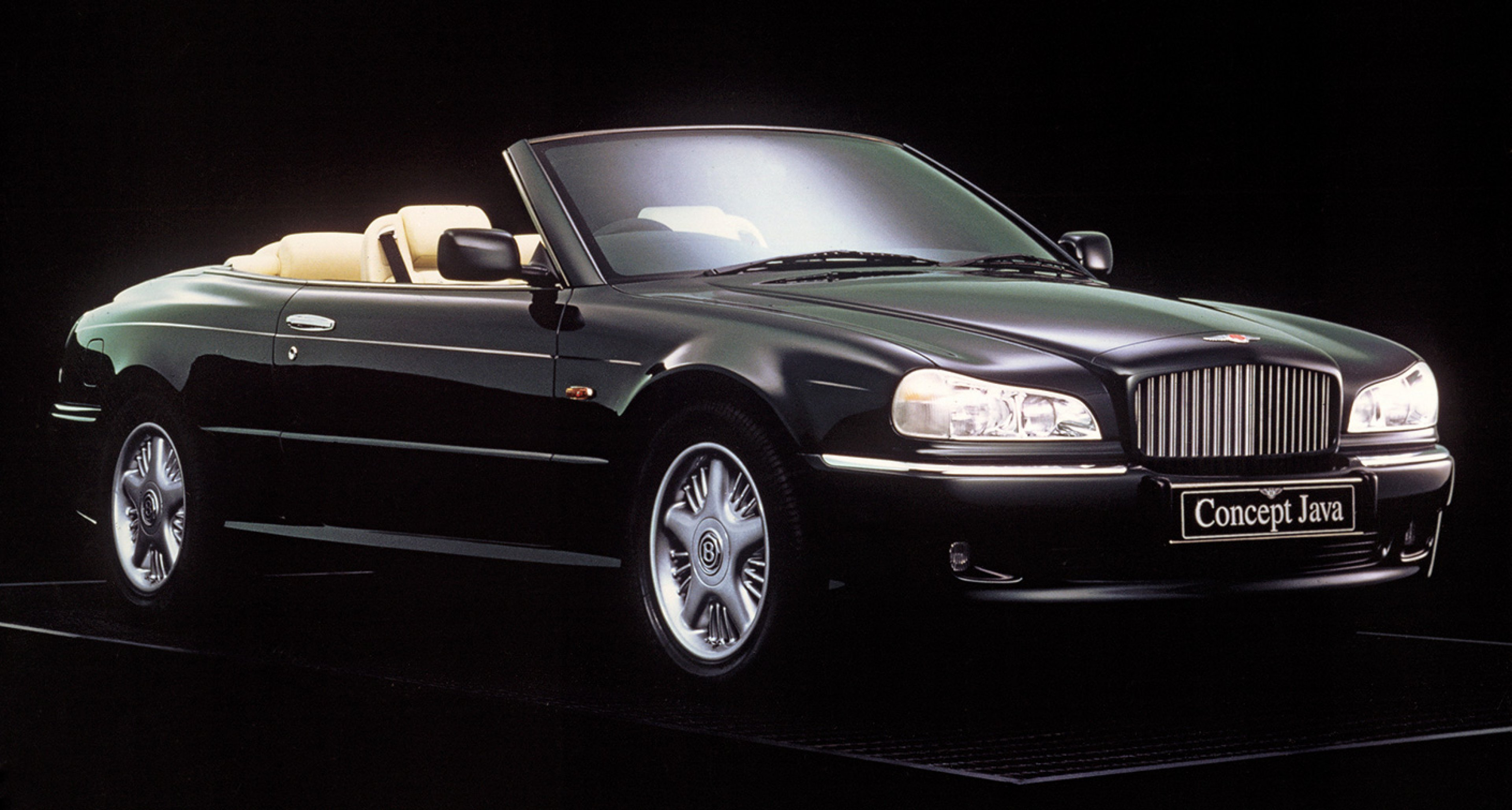 Concept Java convertible of the mid-90s