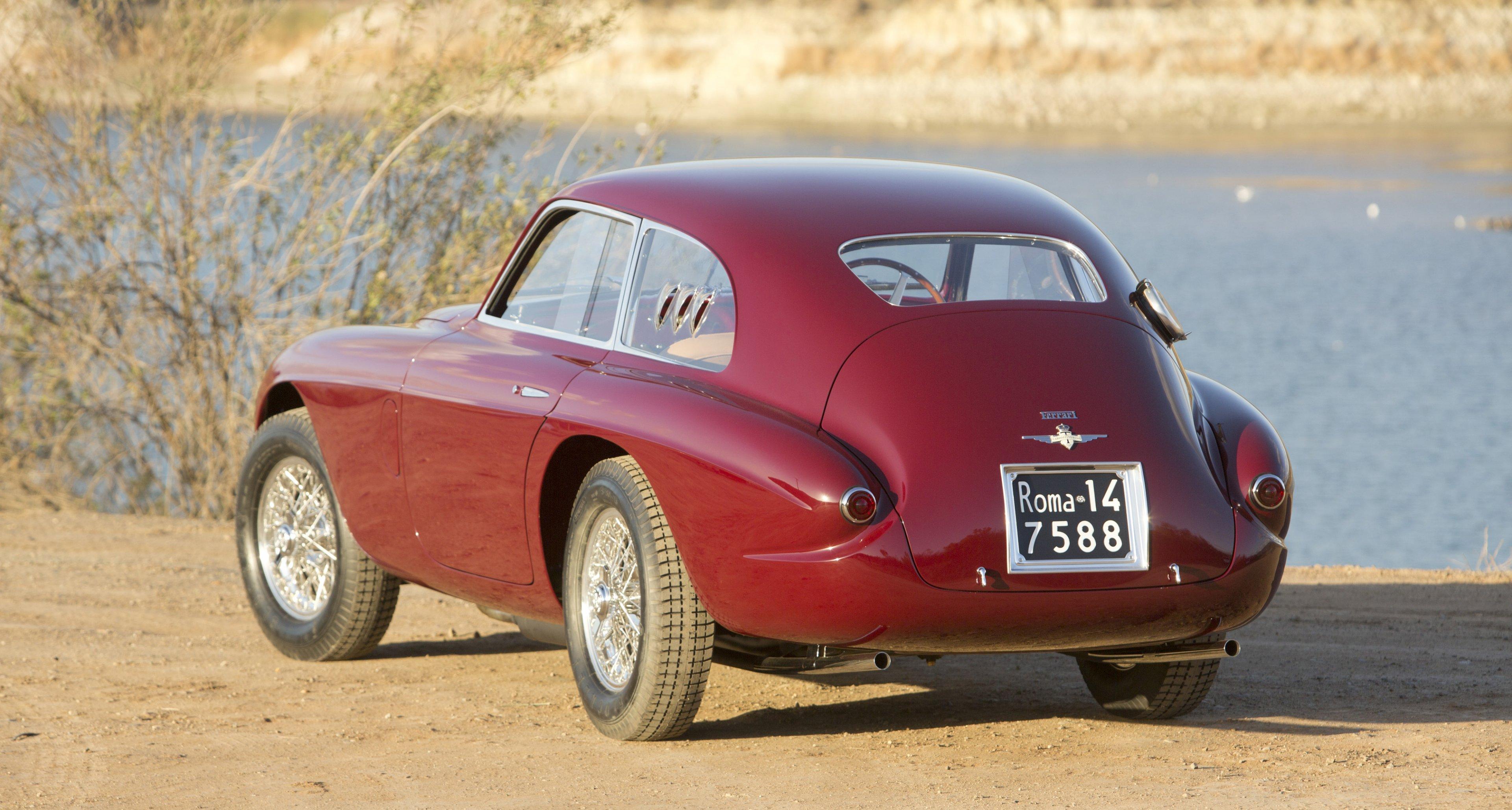 1951 Ferrari 212 Export Berlinetta 'The Tailor's Car' sold by Bonhams for $3,190,000