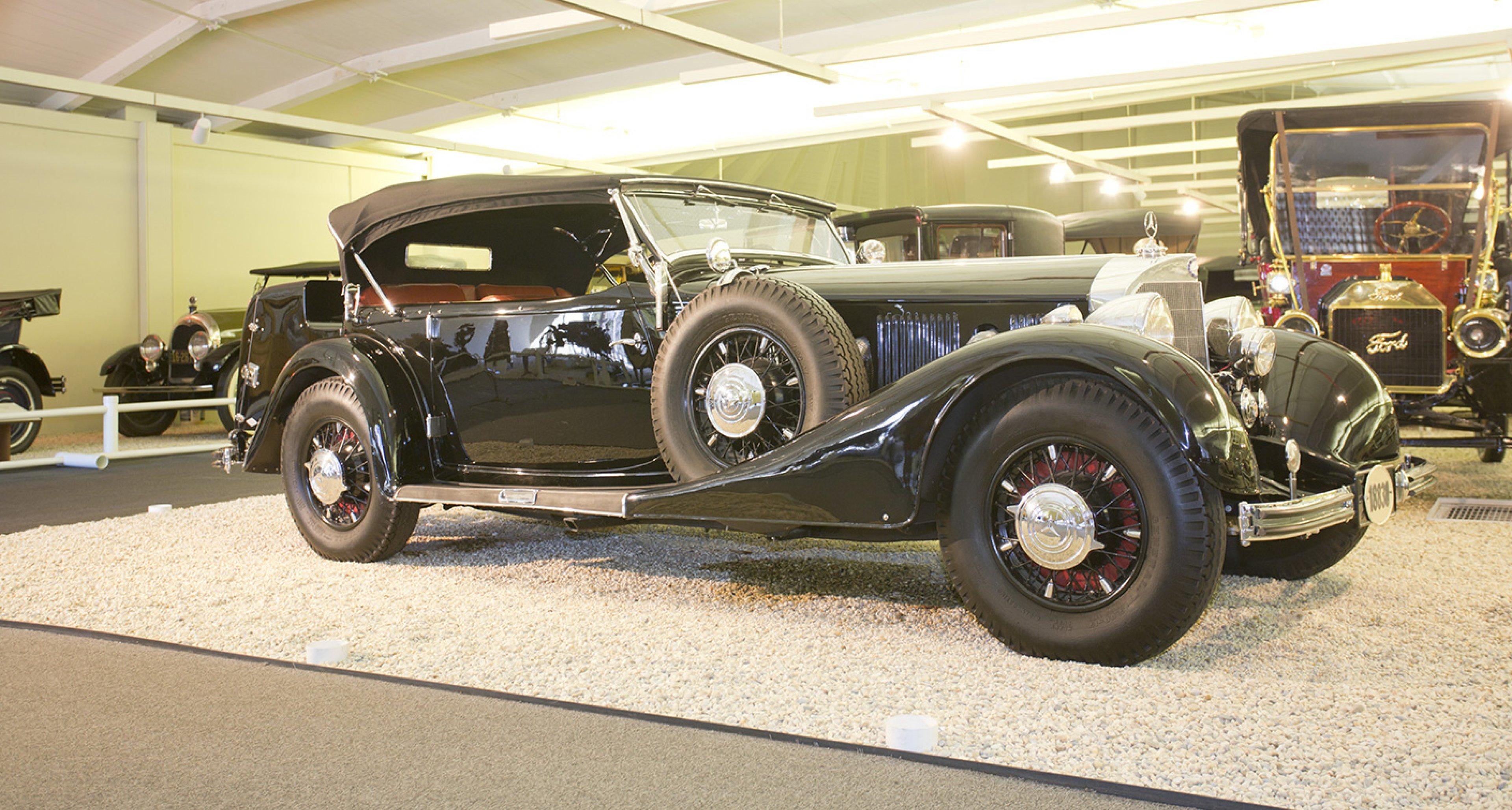1936 Mercedes-Benz 500K Sports Phaeton sold by Bonhams for $1,430,000