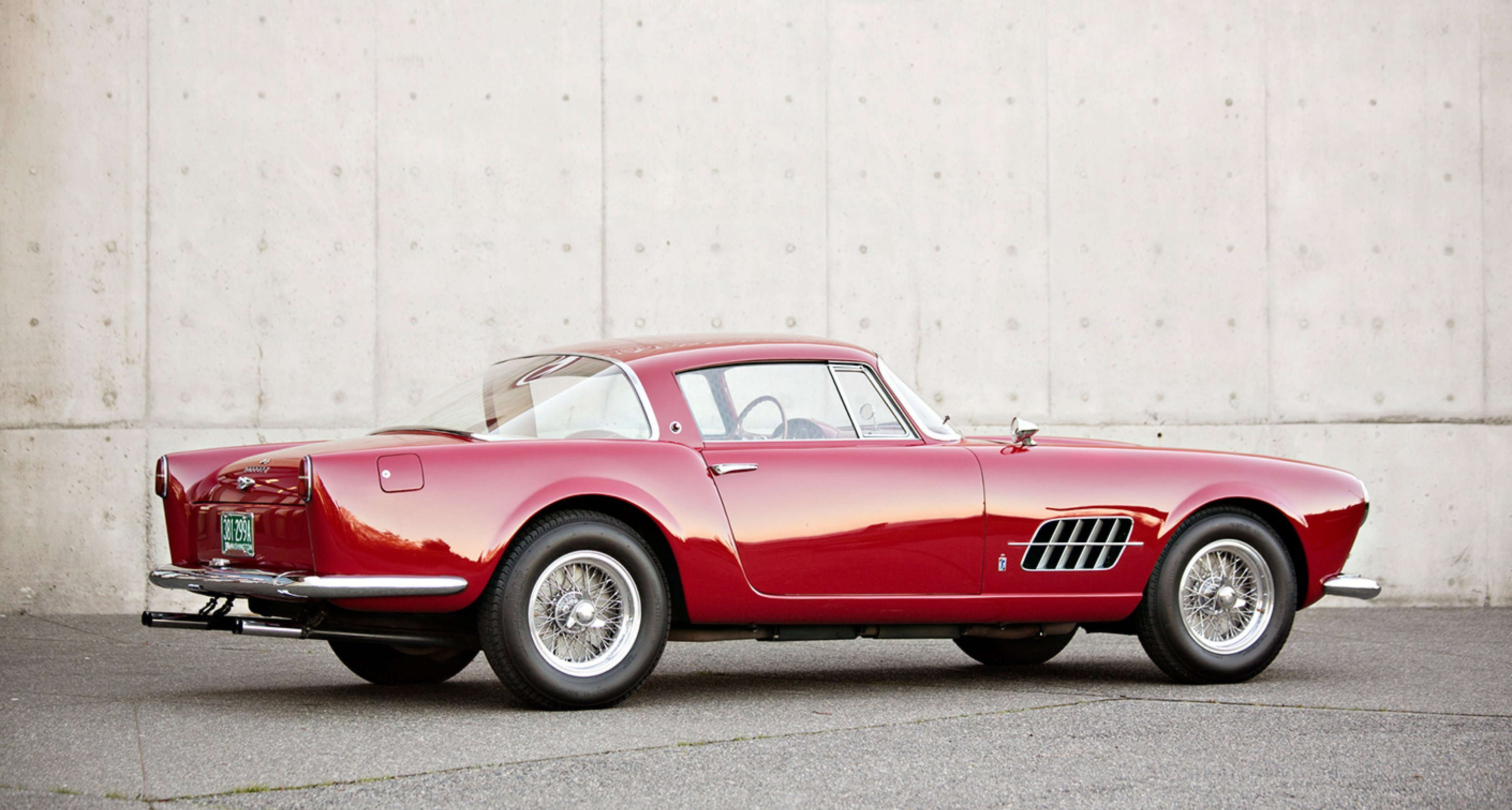 1956 Ferrari 410 Superamerica Series I Coupe sold by Gooding for $3,300,000