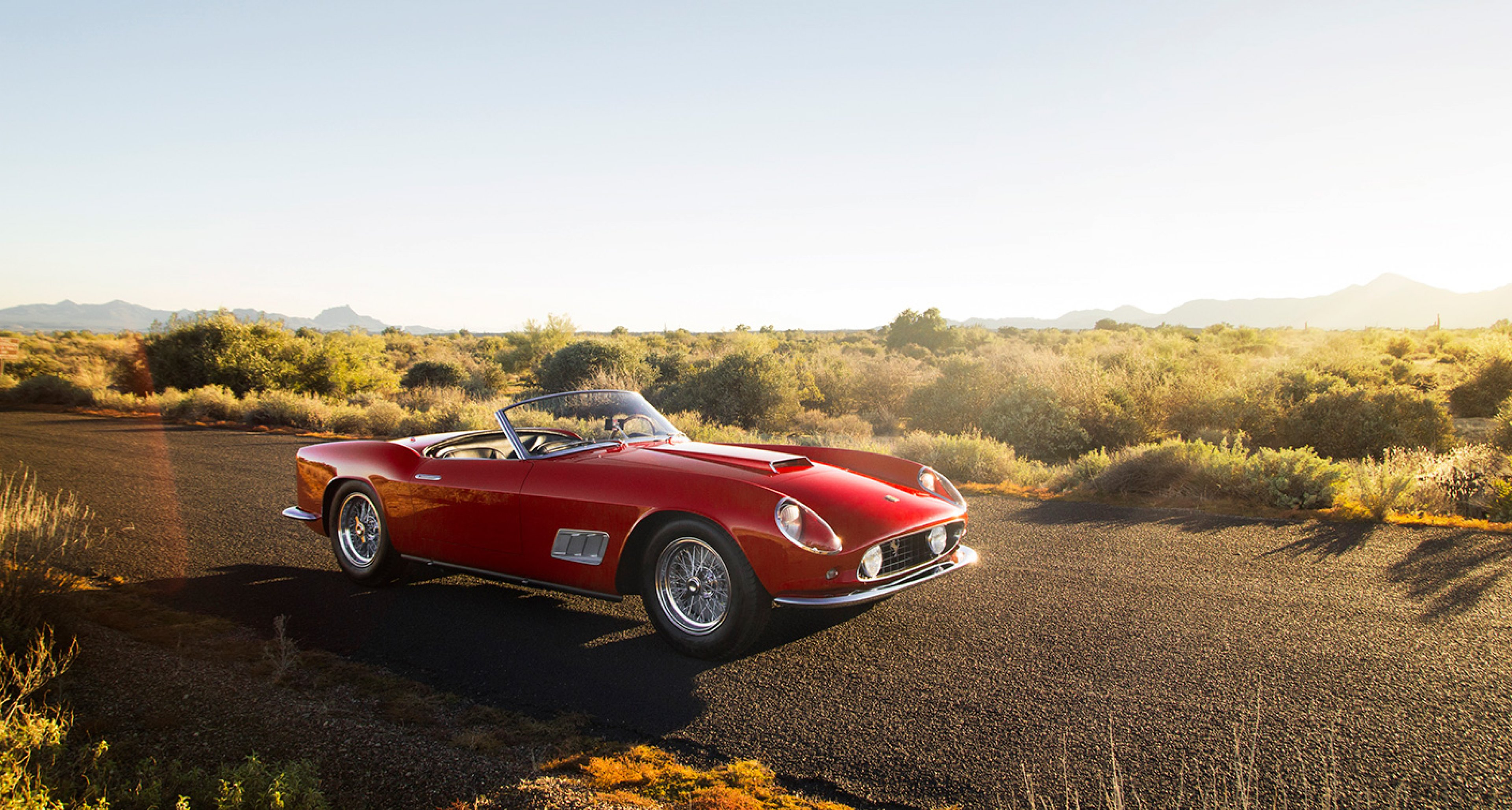 1958 Ferrari 250 GT LWB California Spider sold by RM for $8,800,000
