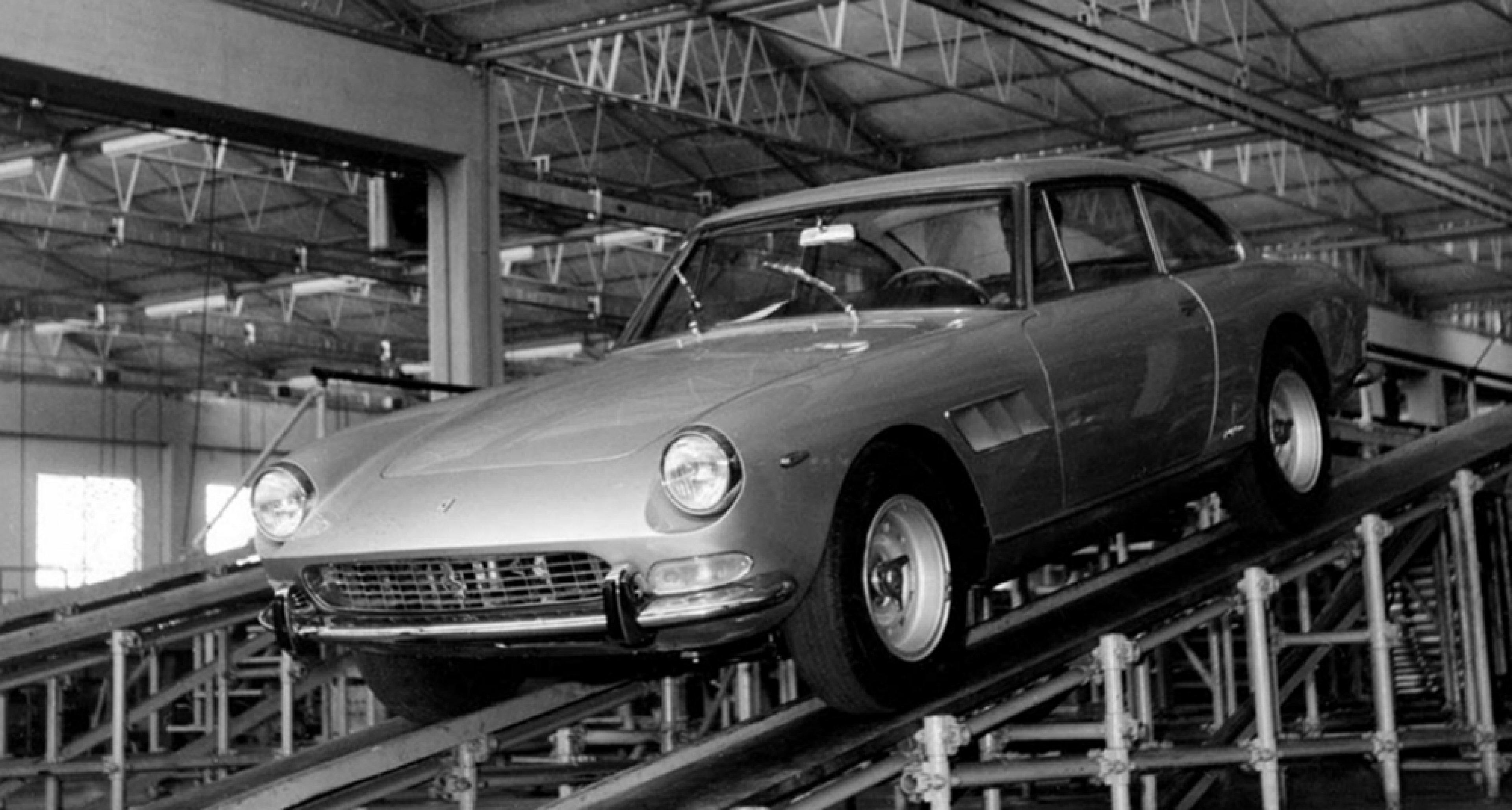 The beautiful Ferrari 330 GT 2+2