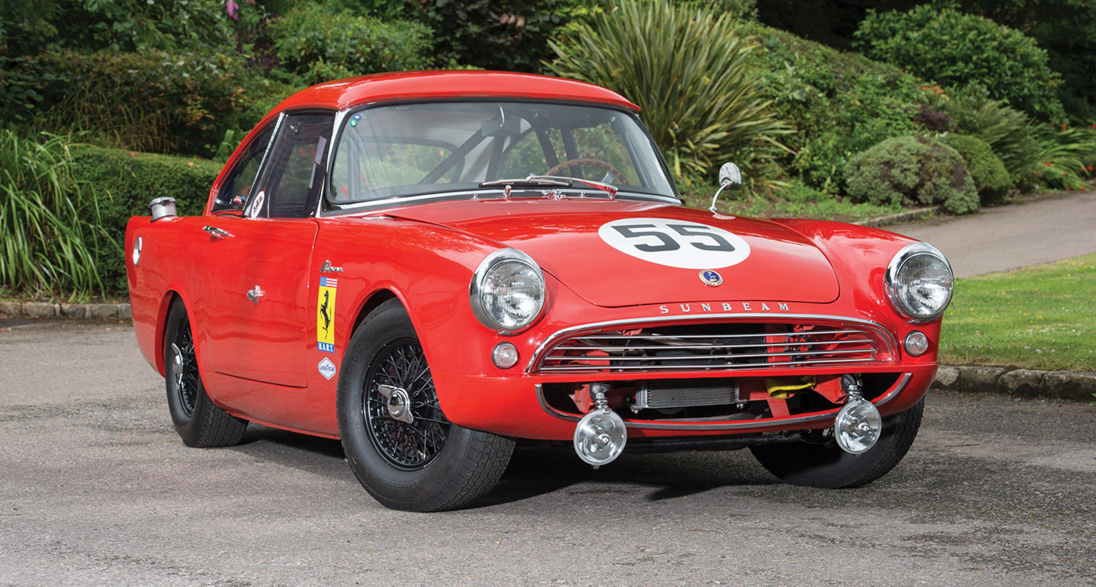 This Harrington Sunbeam Alpine Legitimately Wore The Ferrari Crest