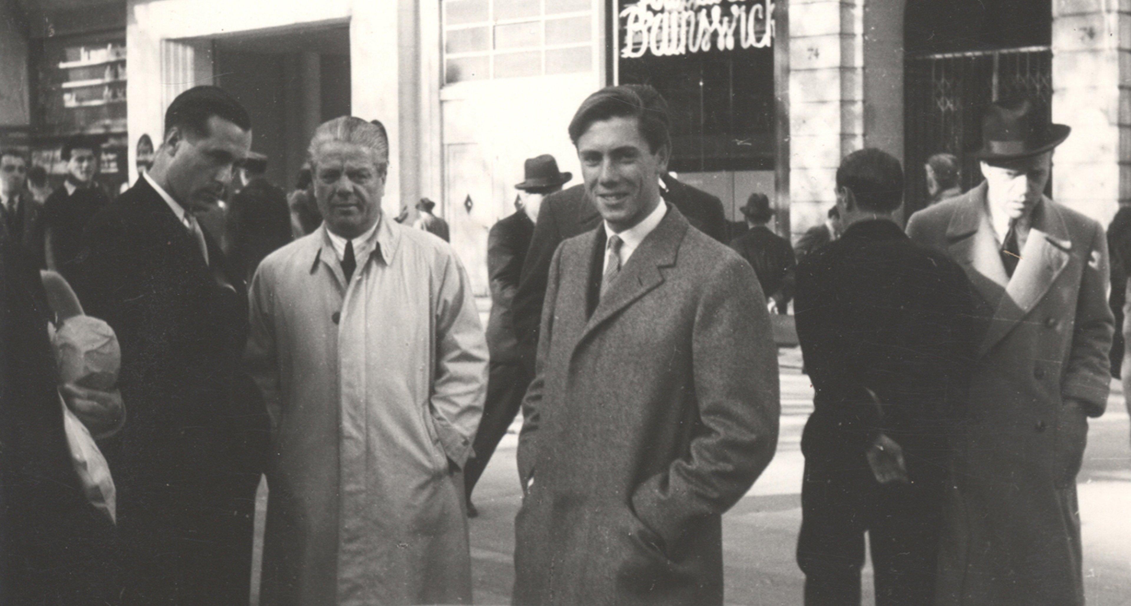 Sergio and Battista Pininfarina. © Pininfarina archives.