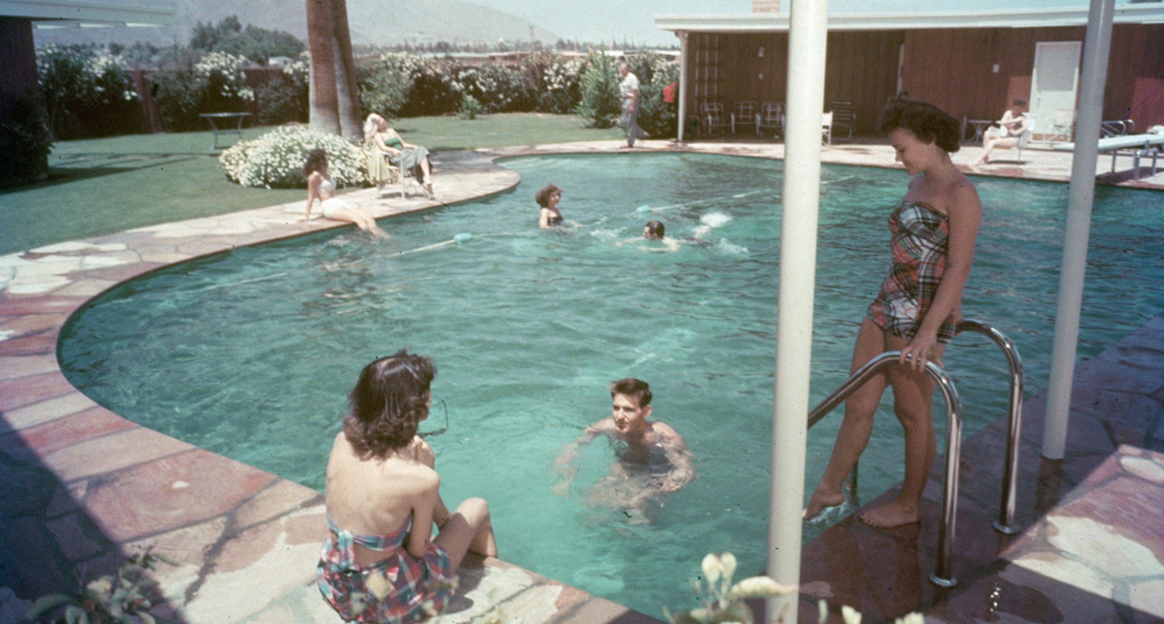 Twin Palms Frank Sinatra Estate by E. Stewart Williams (1947).