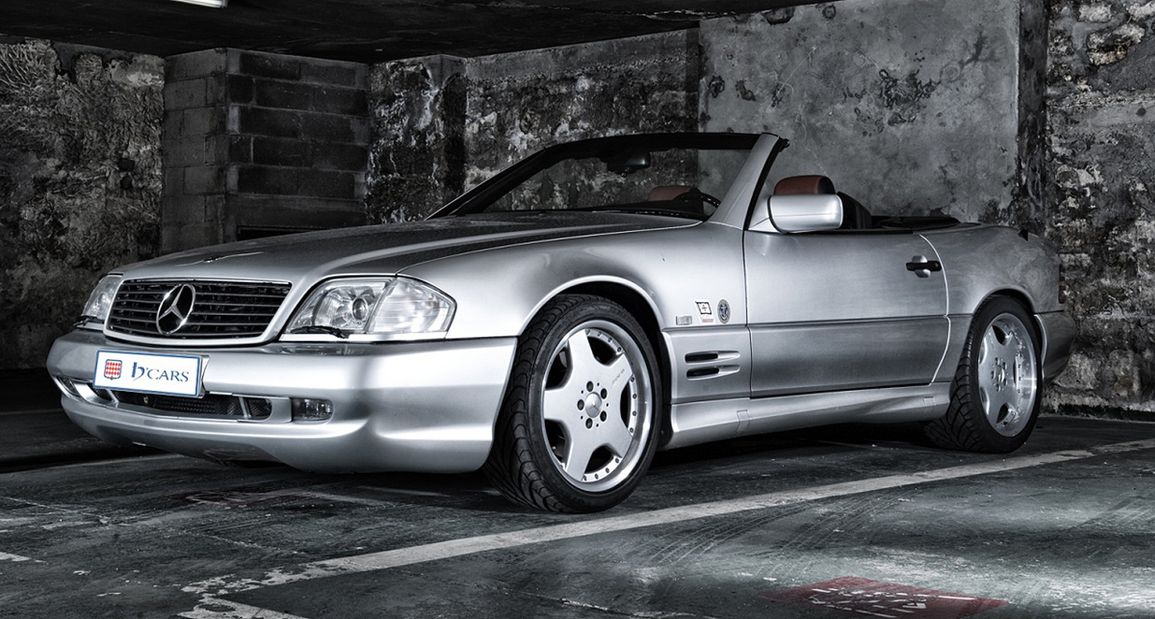 Mercedes benz sl 60 amg days of thunder classic driver for Mercedes benz classic magazine