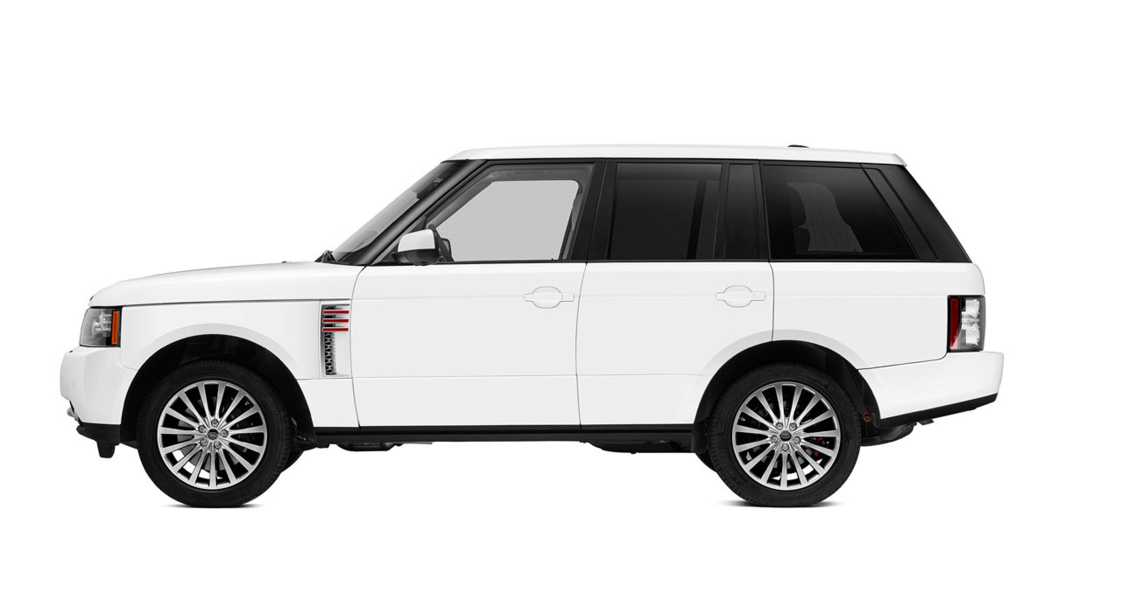 Special designed Range Rover by Marc Newson for the Sotheby's Red Charitiy Auction